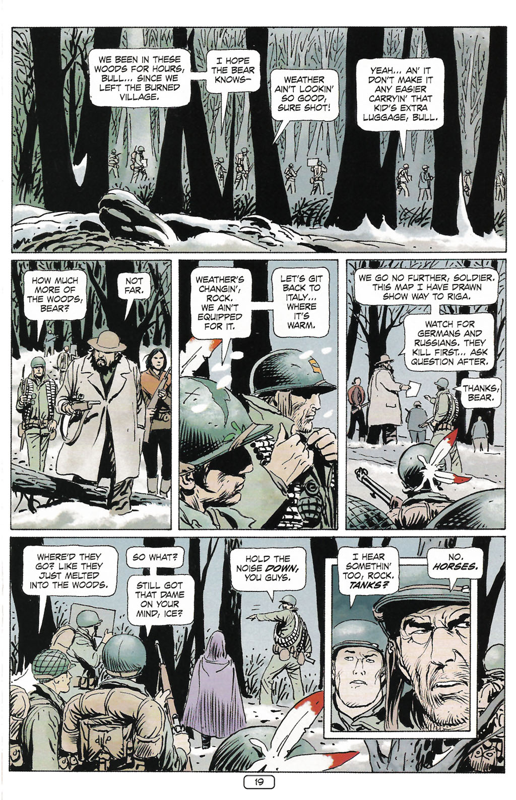 Read online Sgt. Rock: The Prophecy comic -  Issue #2 - 20