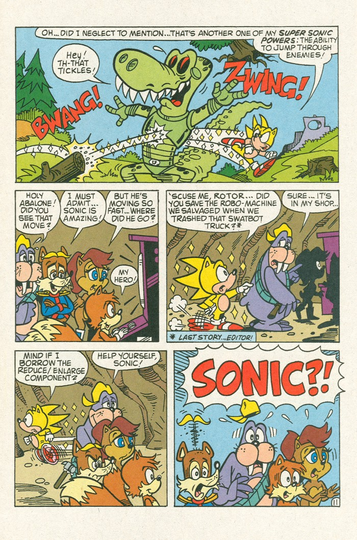 Read online Sonic Super Special comic -  Issue #3 - Sonic Firsts - 35