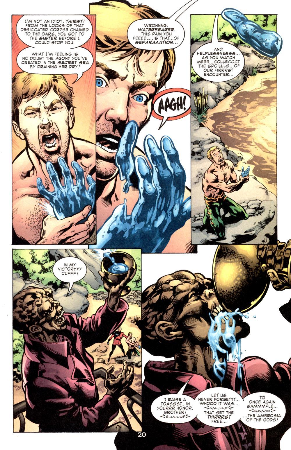Read online Aquaman (2003) comic -  Issue #6 - 22