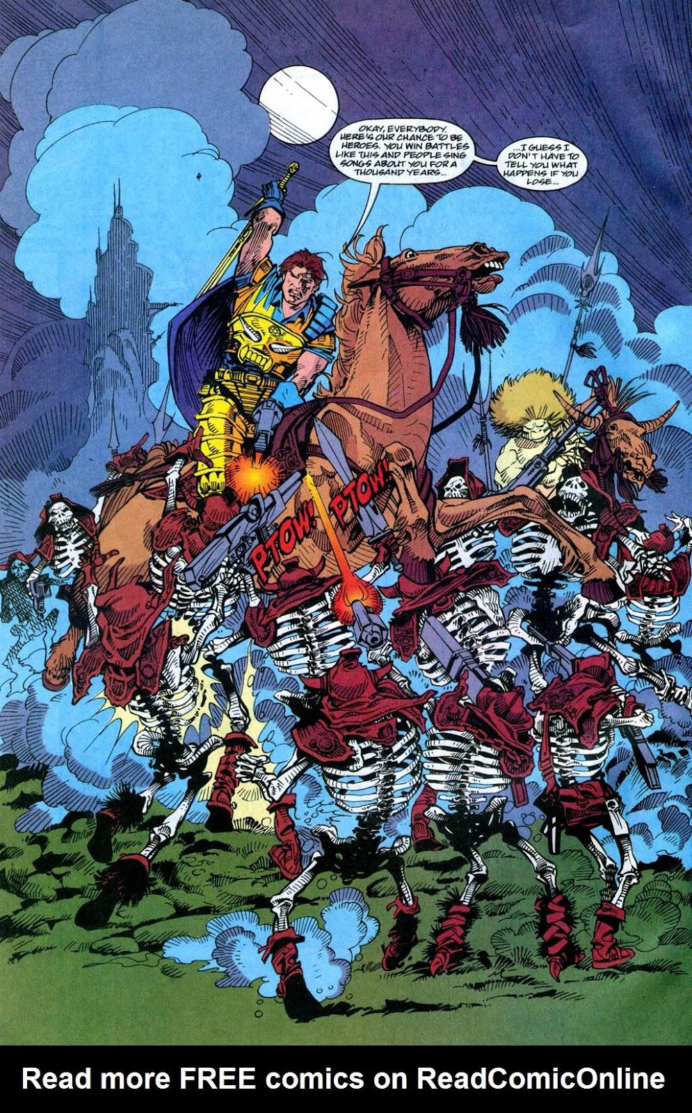 Skeleton Warriors Issue #4 #4 - English 18