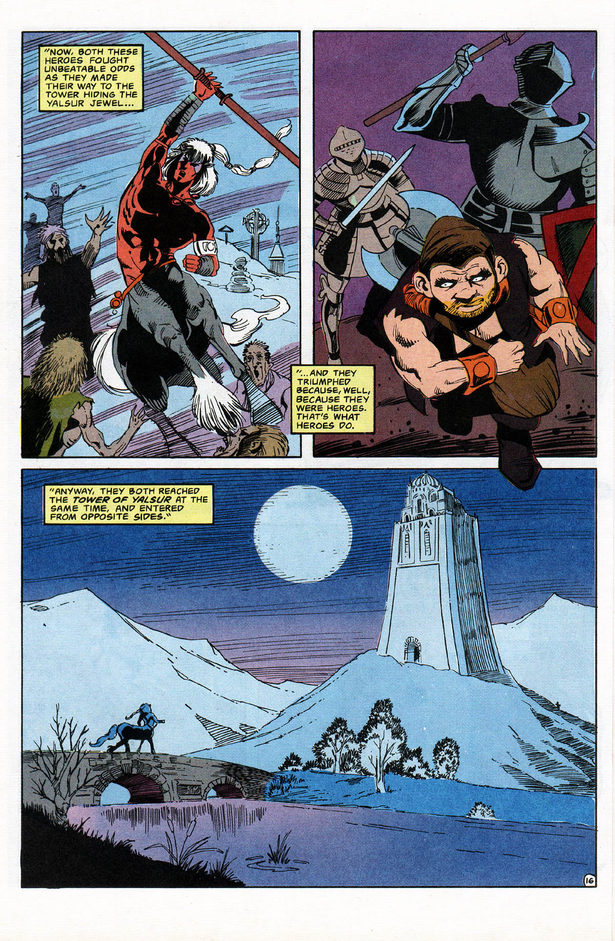 Read online Advanced Dungeons & Dragons comic -  Issue #11 - 19