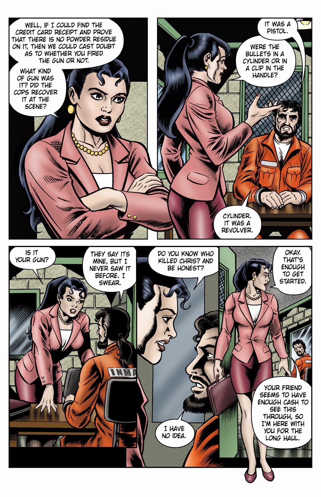 Read online SideChicks comic -  Issue #4 - 16
