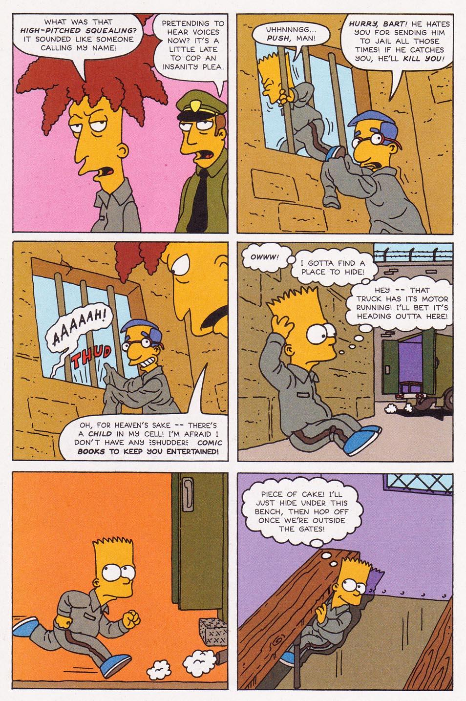 Read online Simpsons Comics comic -  Issue #2 - 13