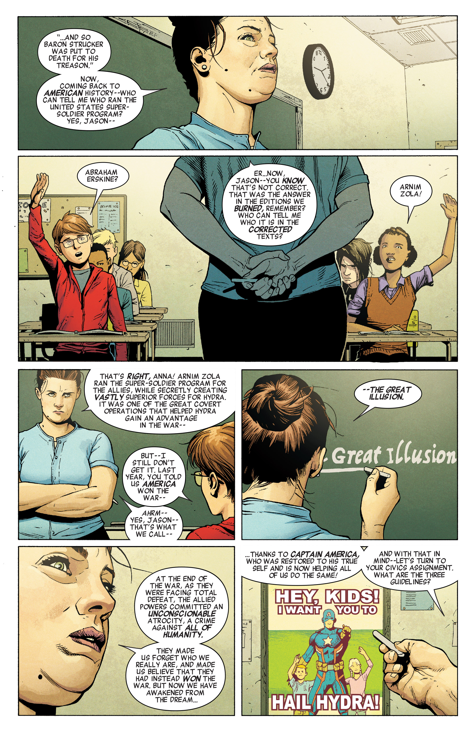 Read online Secret Empire comic -  Issue #1 - 3