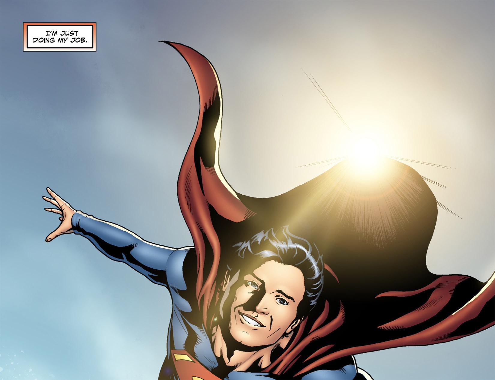 Read online Smallville: Season 11 comic -  Issue #1 - 21