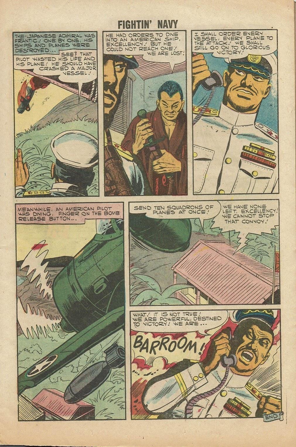 Read online Fightin' Navy comic -  Issue #81 - 13