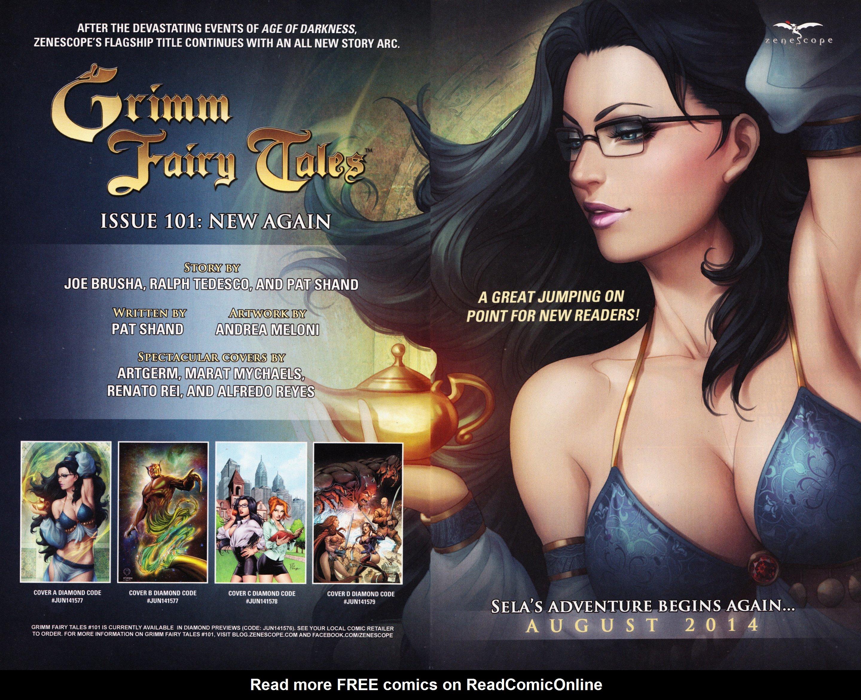 Read online Grimm Fairy Tales vs. Wonderland comic -  Issue #1 - 29