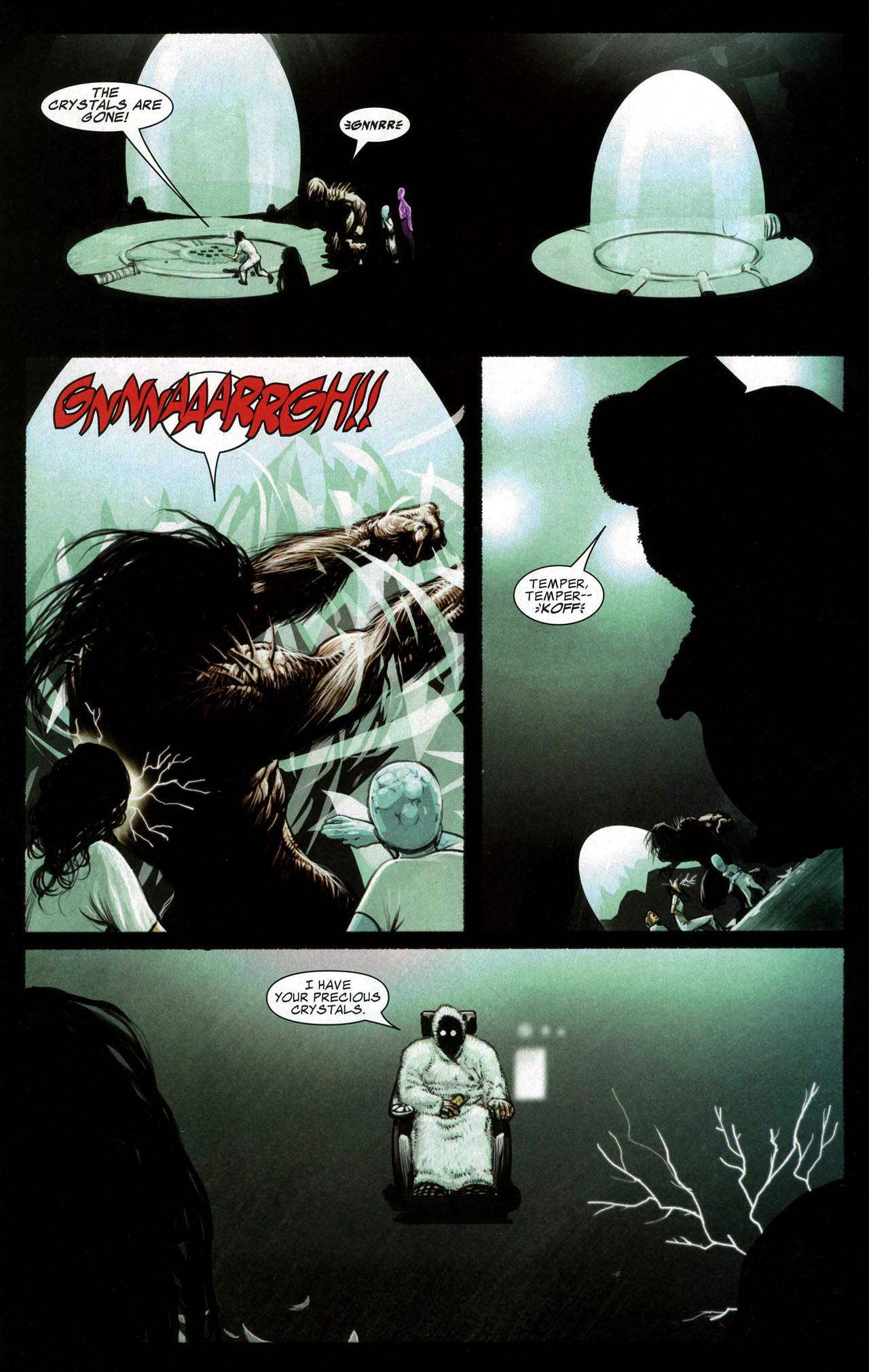 Read online Silent War comic -  Issue #5 - 11