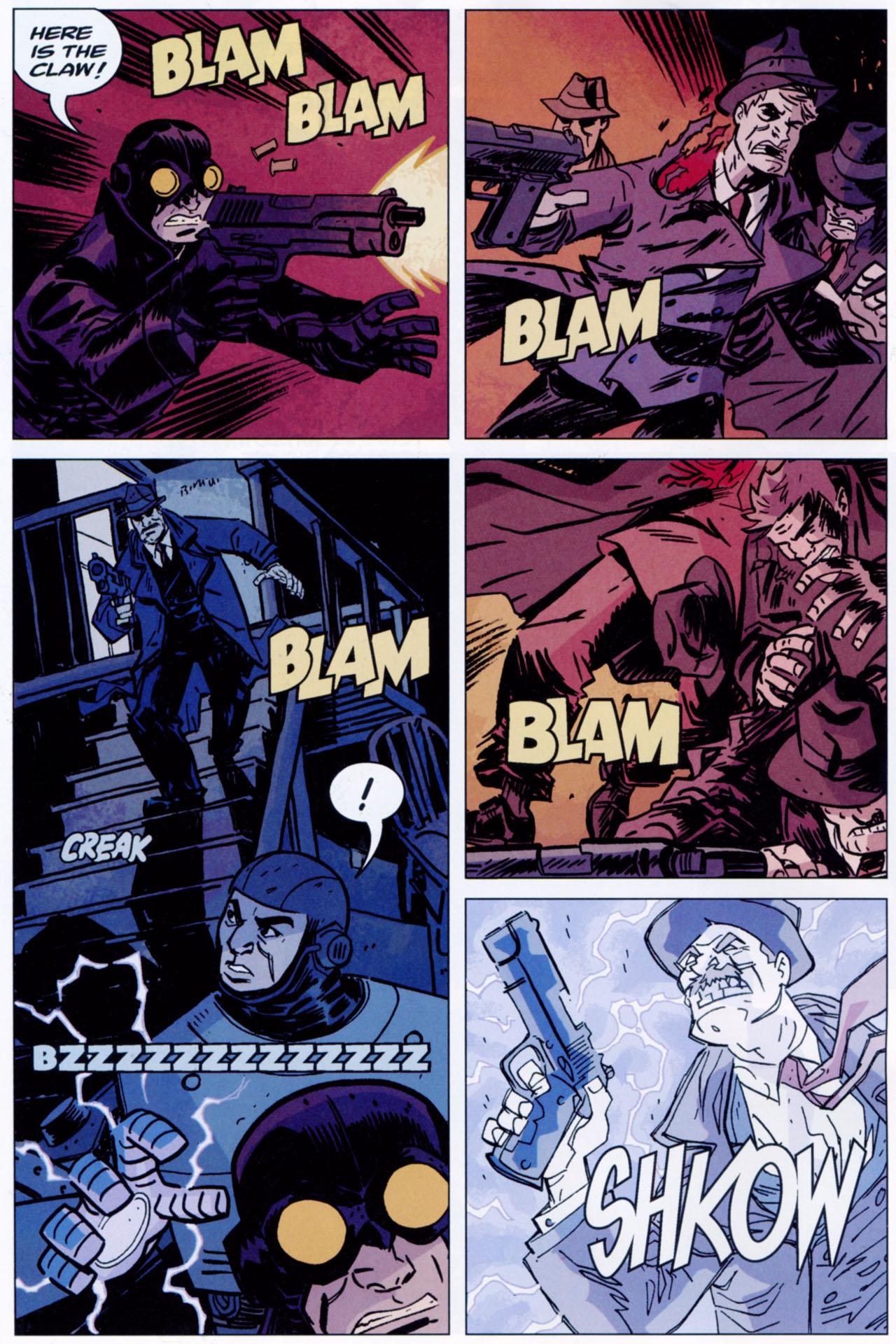 Read online Lobster Johnson: The Iron Prometheus comic -  Issue #1 - 14