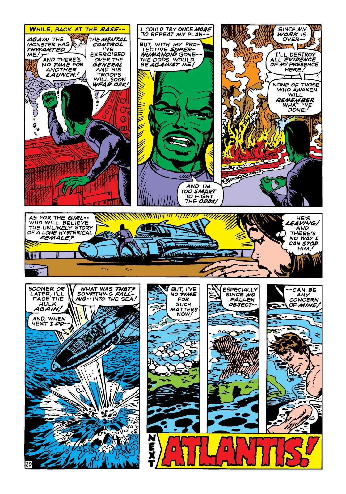 Read online Marvel Masterworks: The Incredible Hulk comic -  Issue # TPB 5 (Part 2) - 52