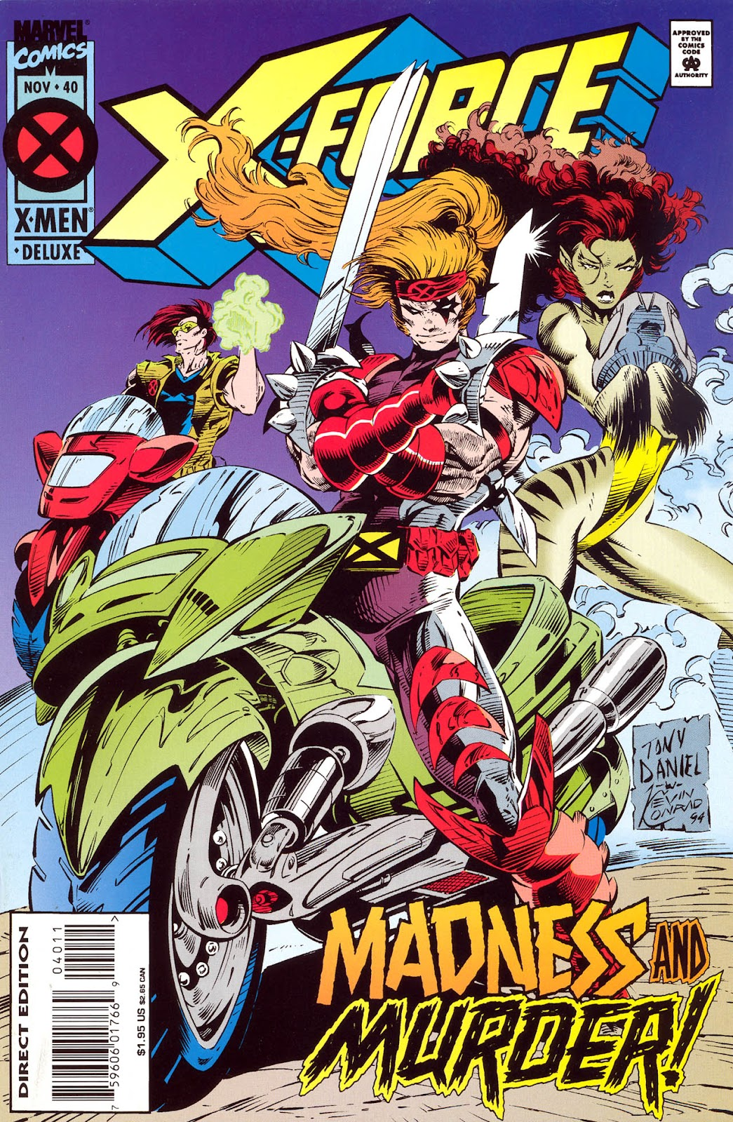 X-Force (1991) 40 Page 1