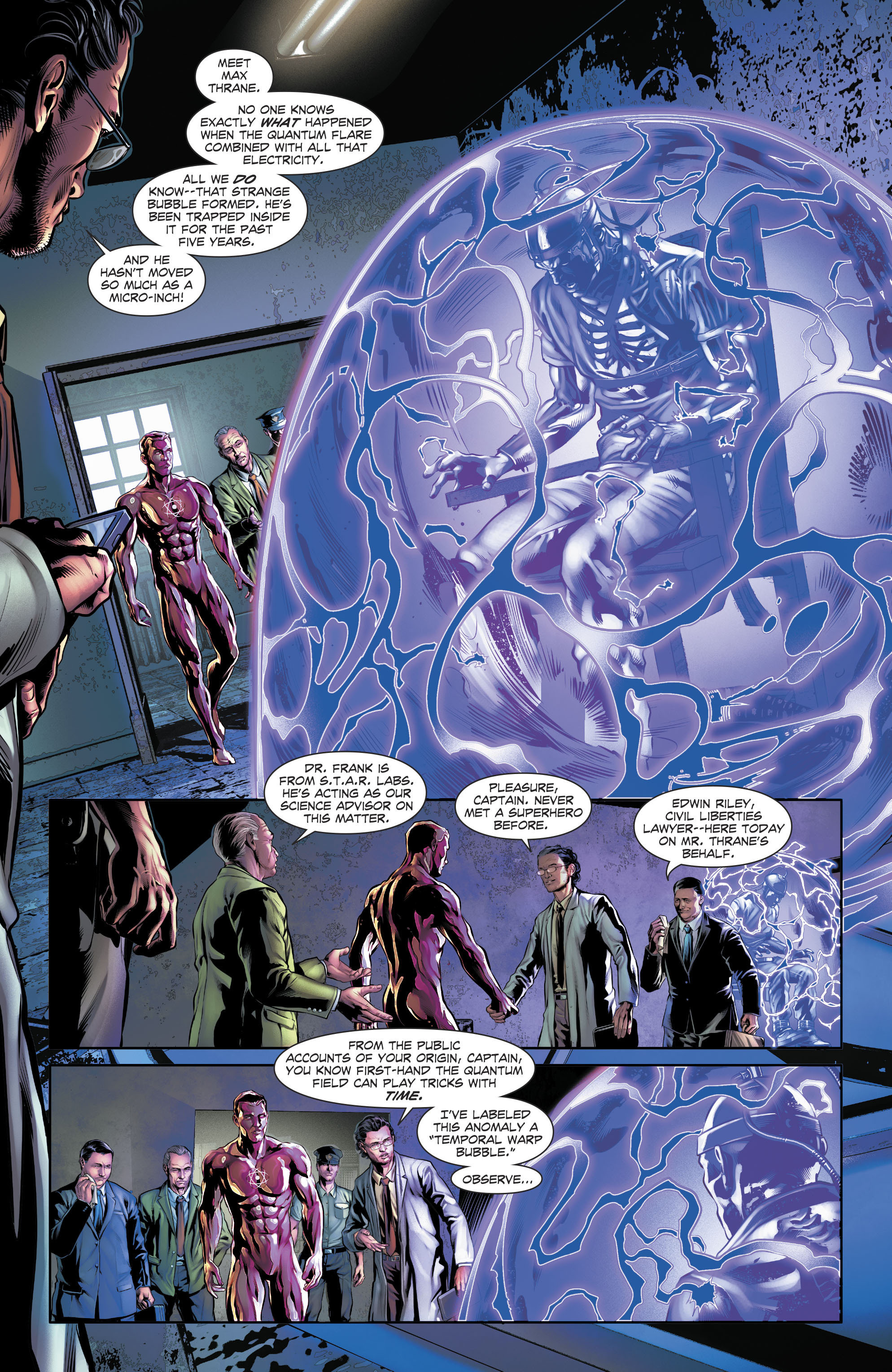 Read online The Fall and Rise of Captain Atom comic -  Issue #4 - 14