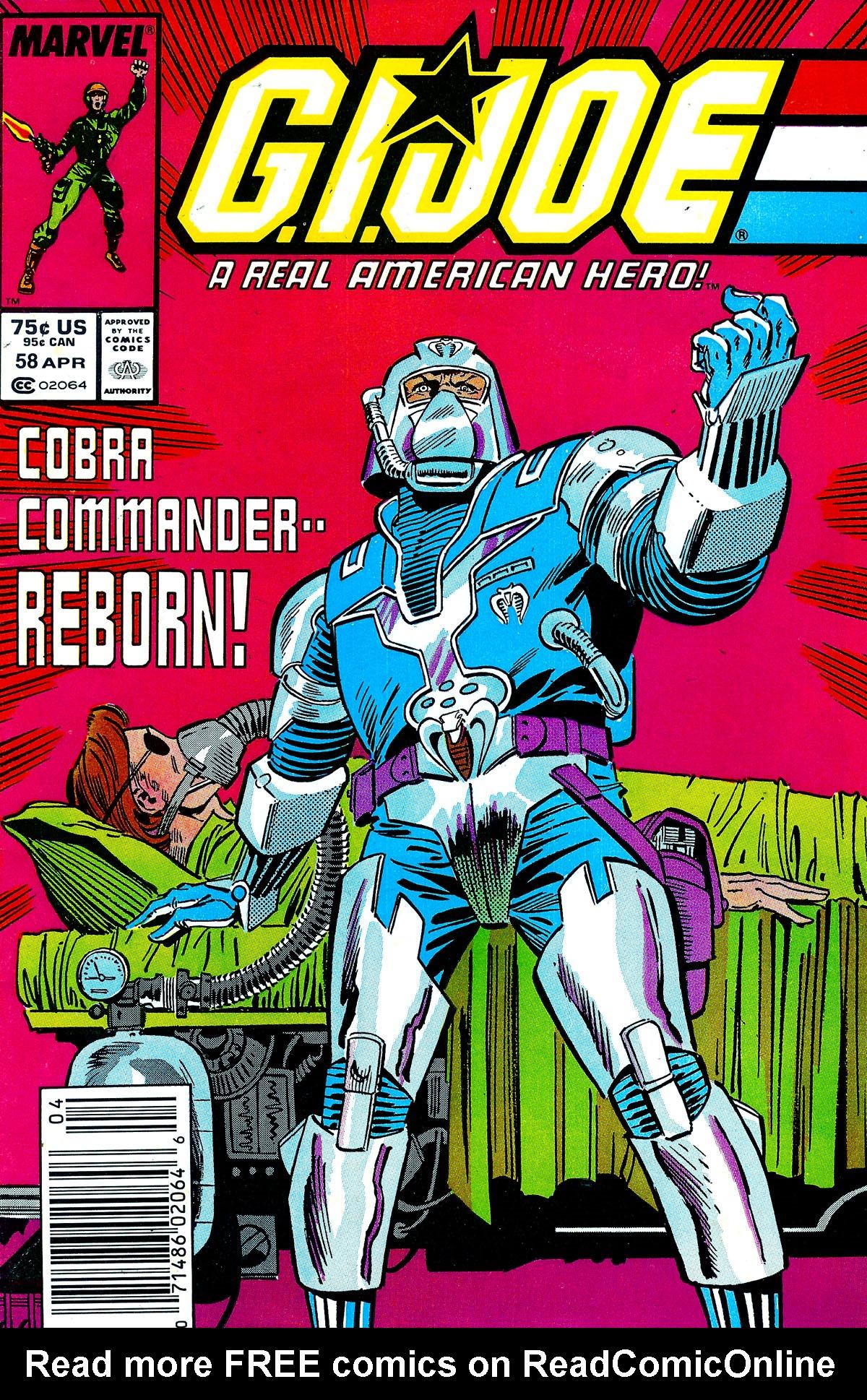 G.I. Joe: A Real American Hero 58 Page 1