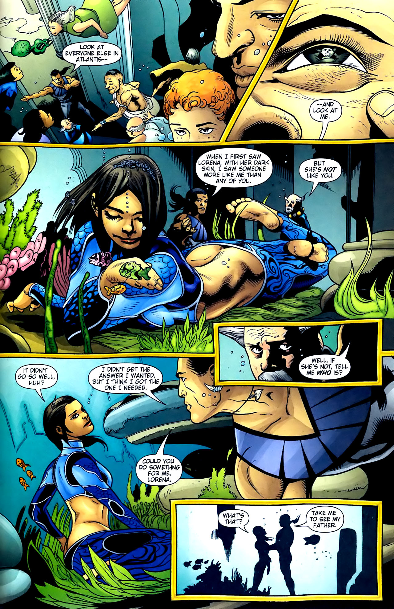 Read online Aquaman (2003) comic -  Issue #32 - 21