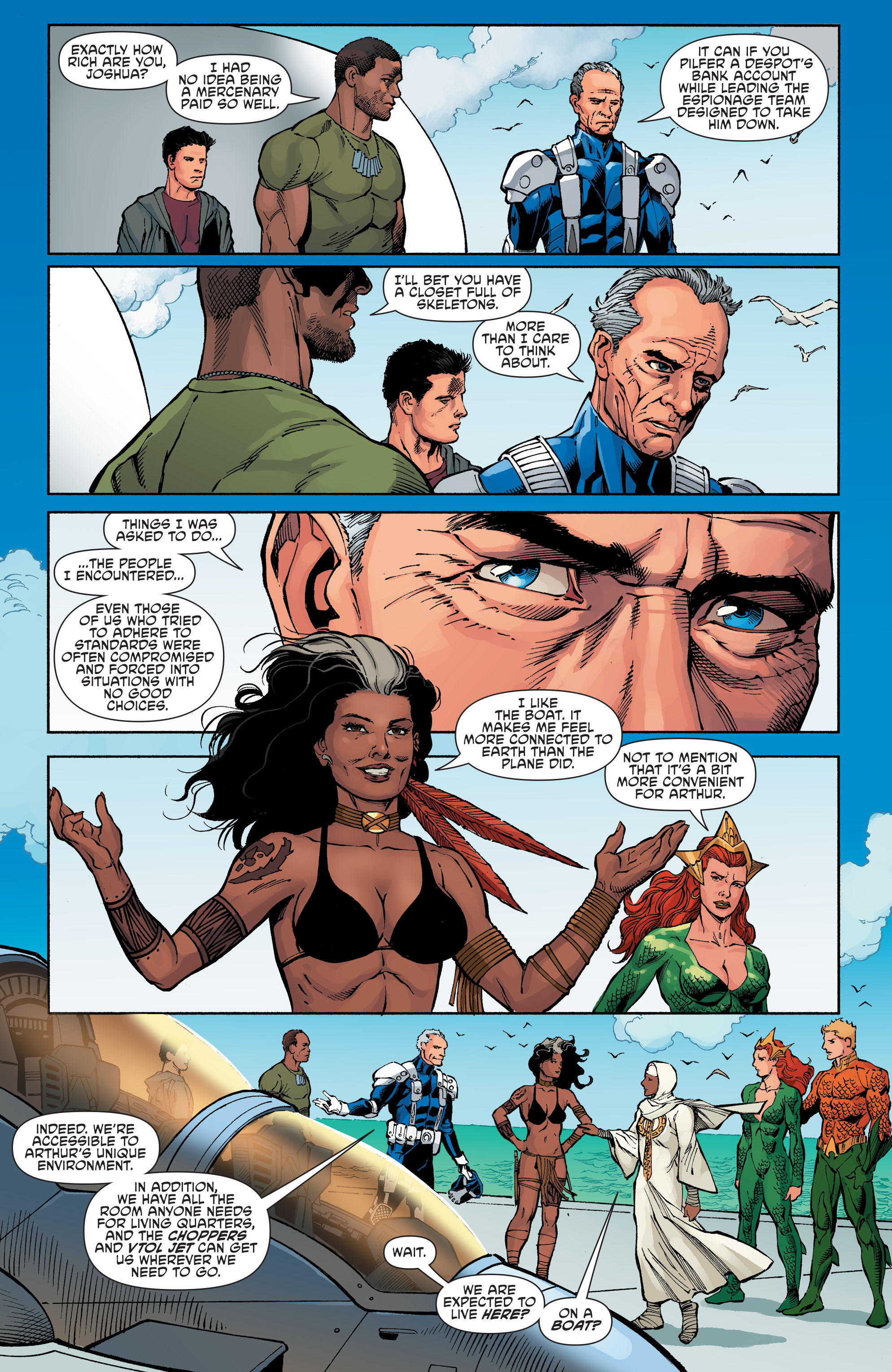 Read online Aquaman and the Others comic -  Issue #6 - 7