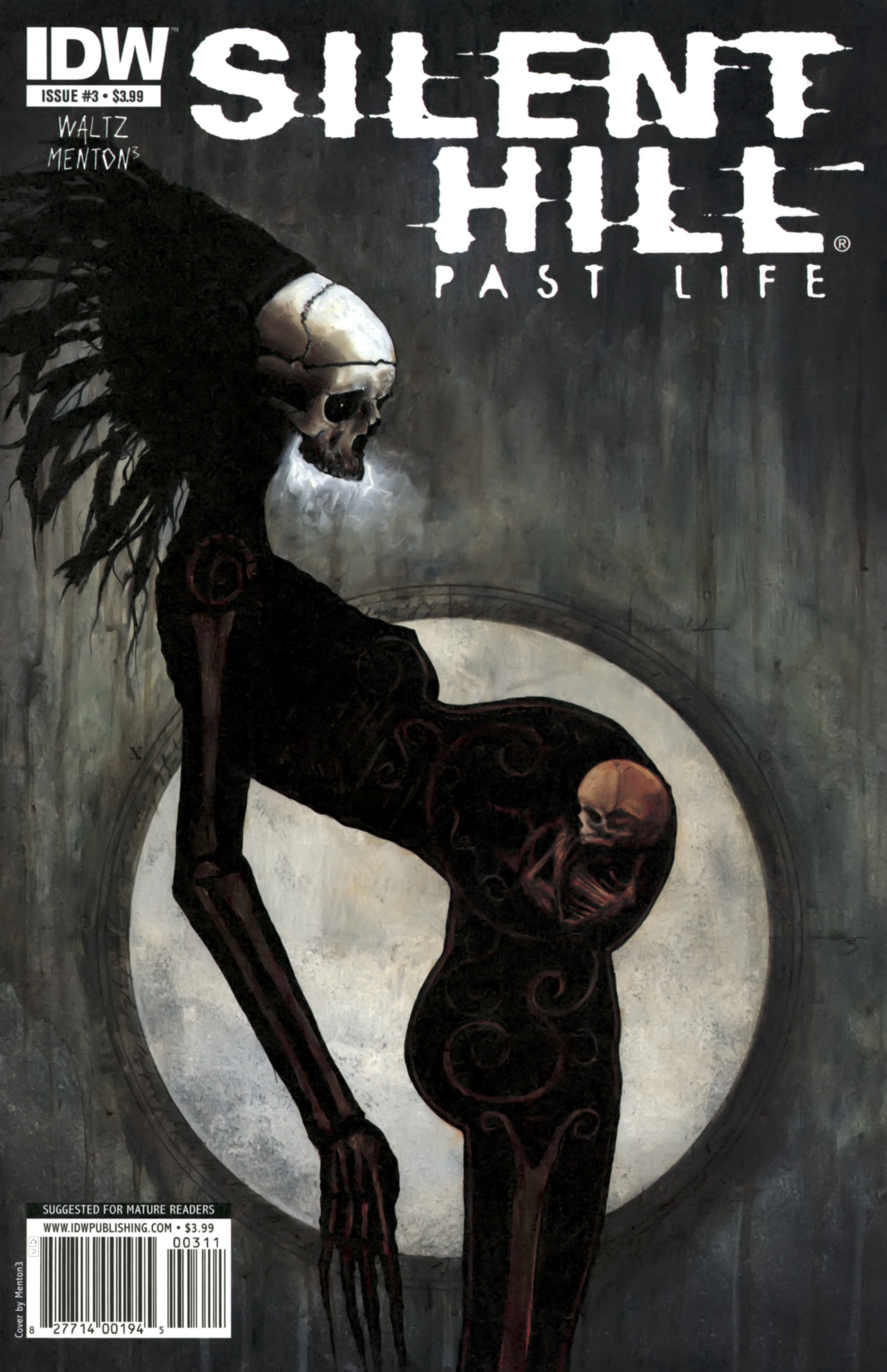 Read online Silent Hill: Past Life comic -  Issue #3 - 1