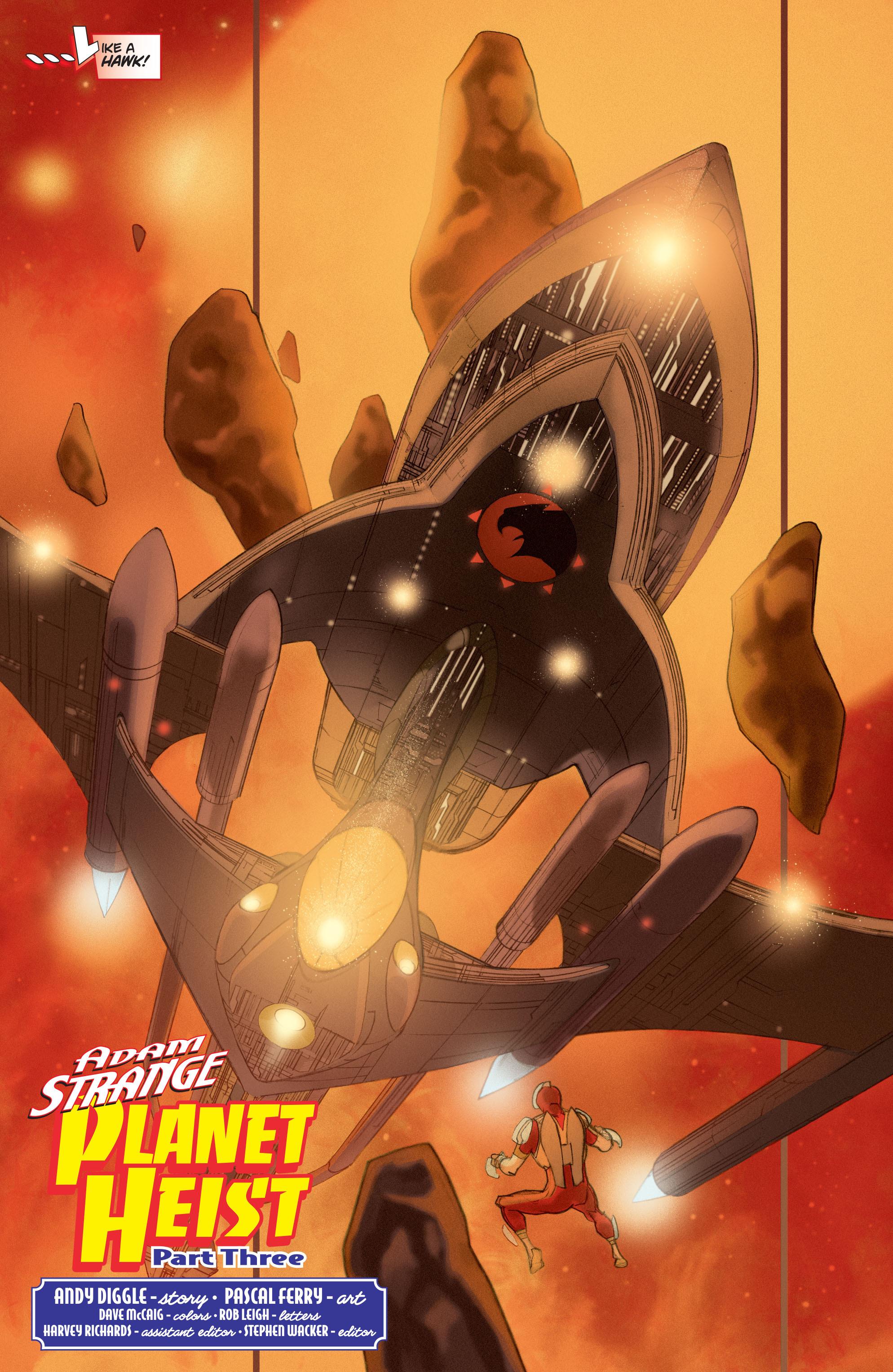 Read online Adam Strange (2004) comic -  Issue #3 - 5