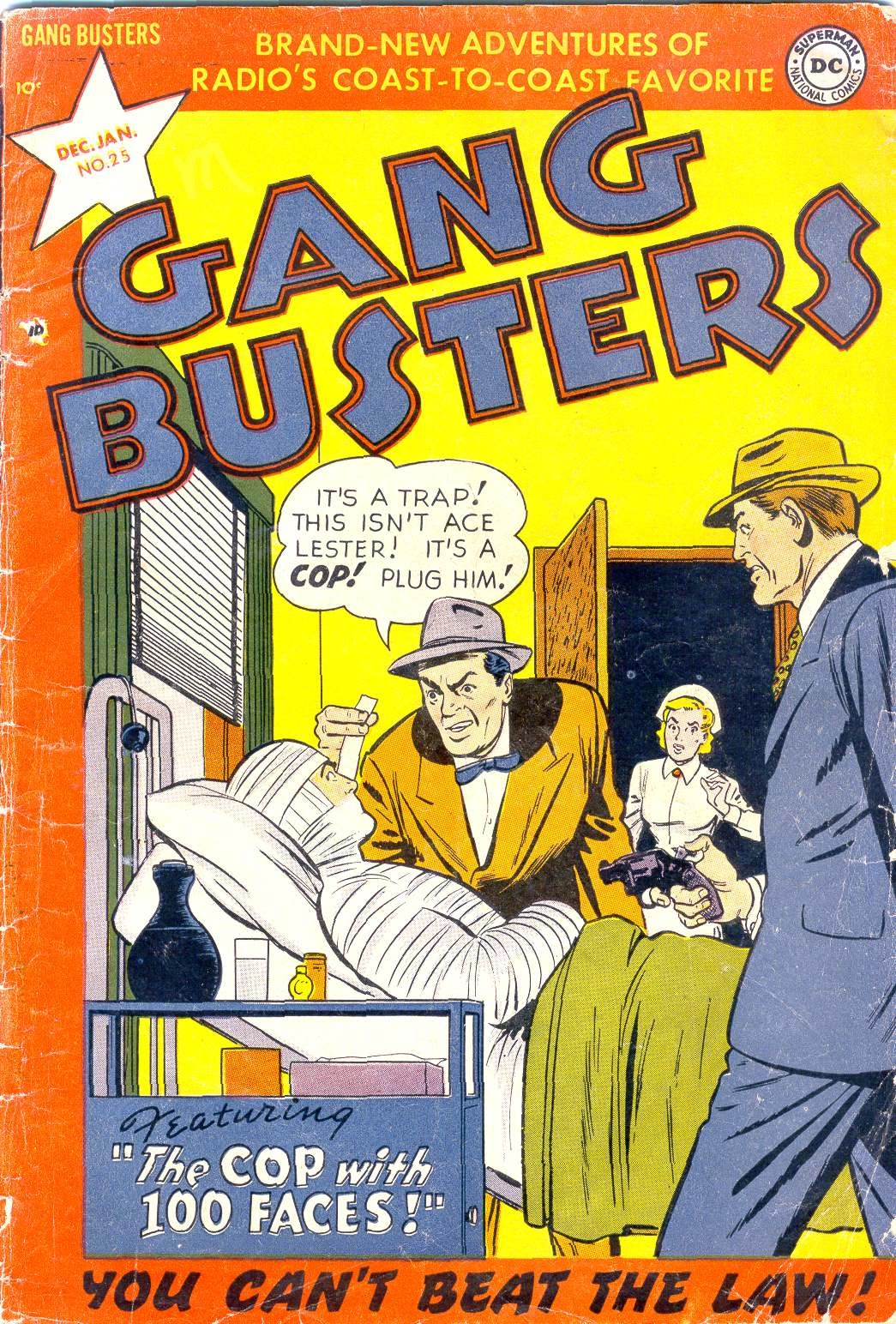 Gang Busters issue 25 - Page 1