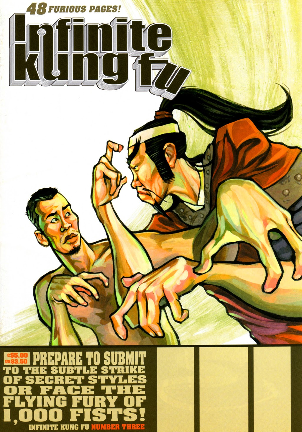 Infinite Kung Fu issue 3 - Page 1