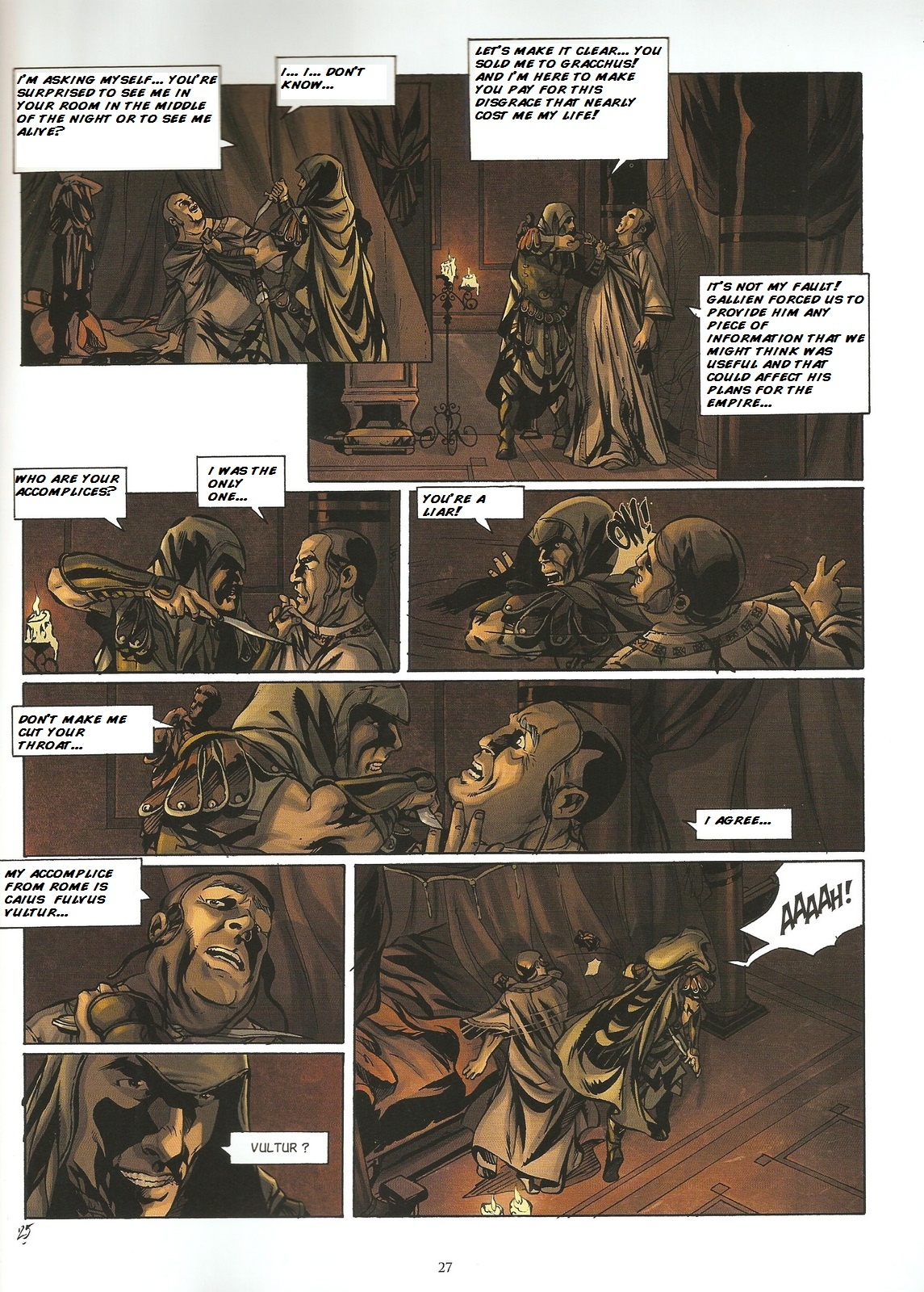 Read online Assassin's Creed (2009) comic -  Issue #2 - 27