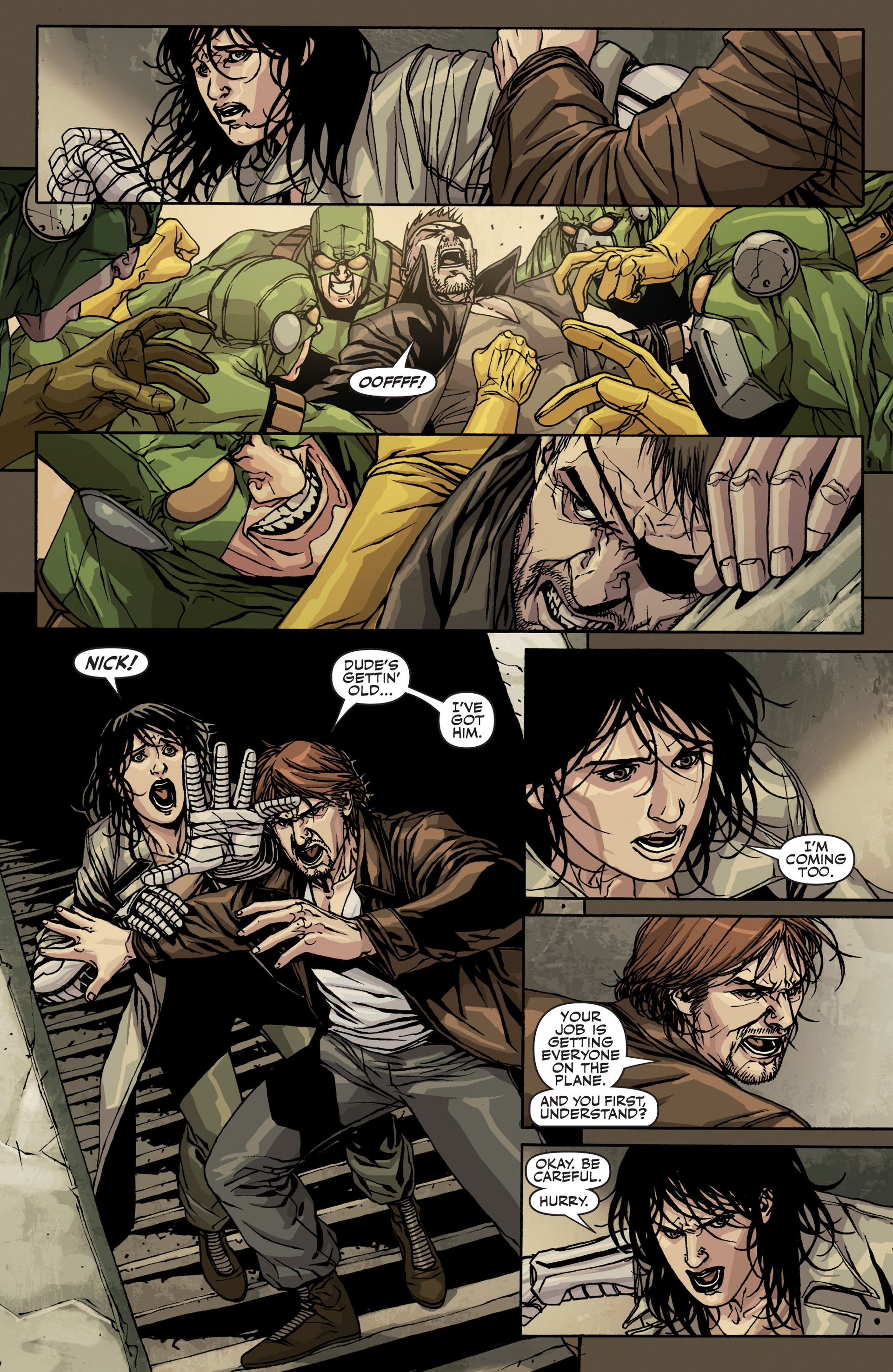 Read online Secret Warriors comic -  Issue #22 - 11