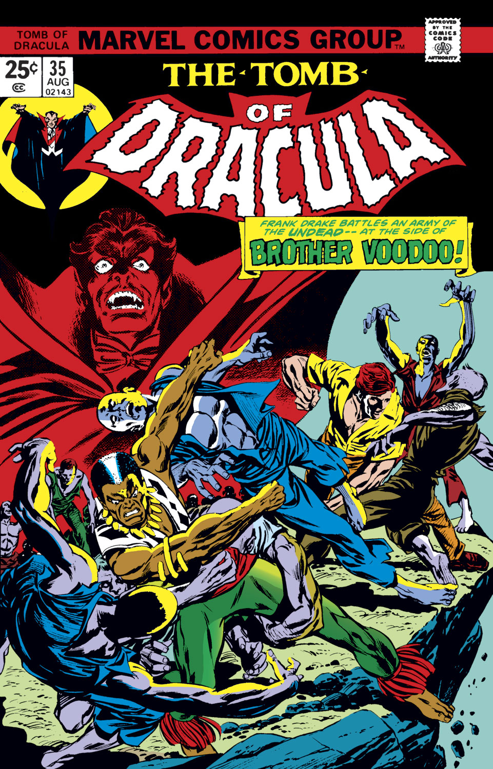 Tomb of Dracula (1972) issue 35 - Page 1