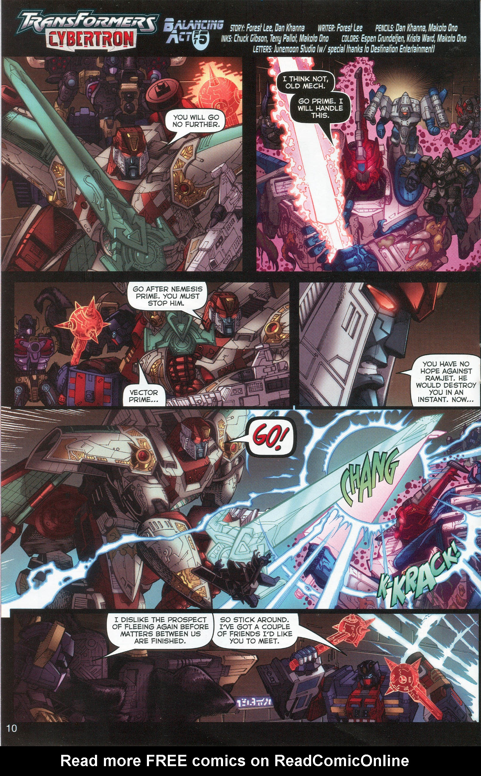 Read online Transformers: Collectors' Club comic -  Issue #6 - 10