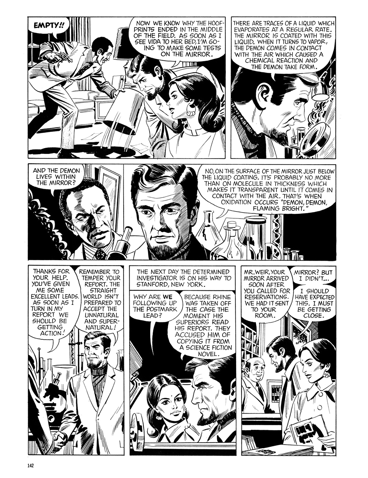 Read online Eerie Archives comic -  Issue # TPB 6 - 142