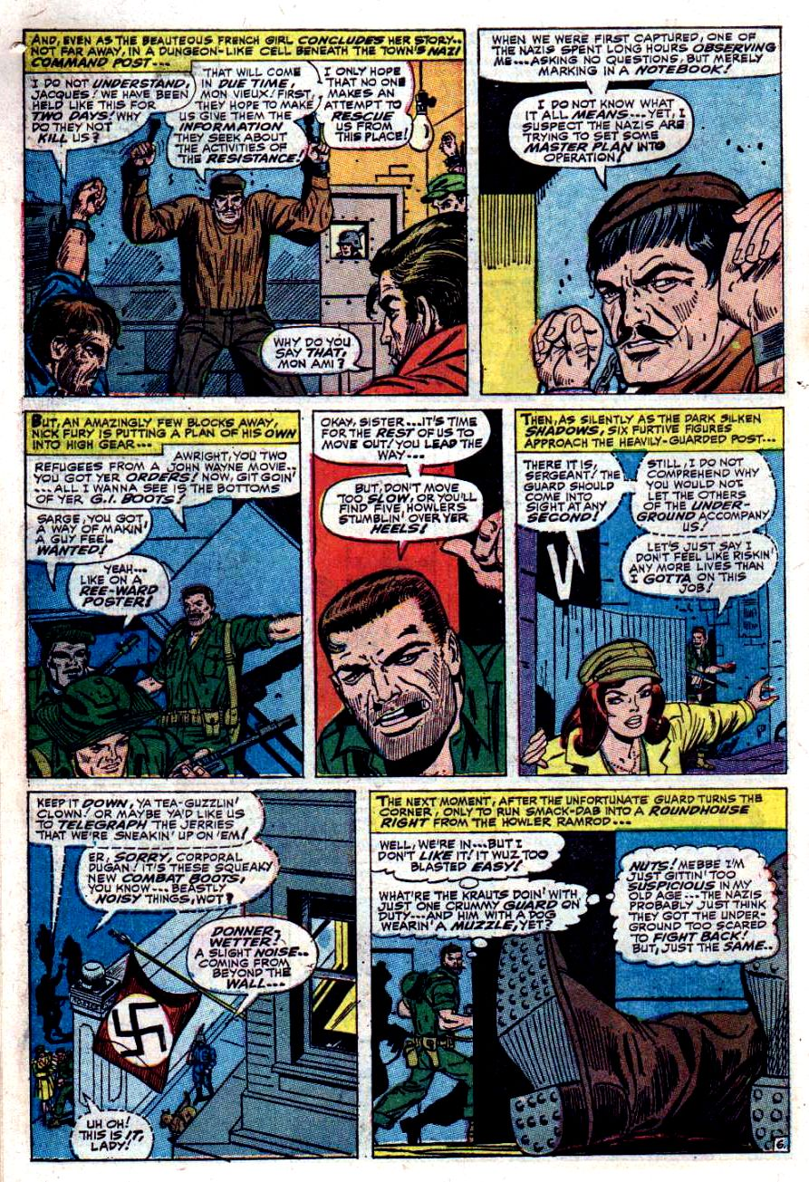 Read online Sgt. Fury comic -  Issue #40 - 10