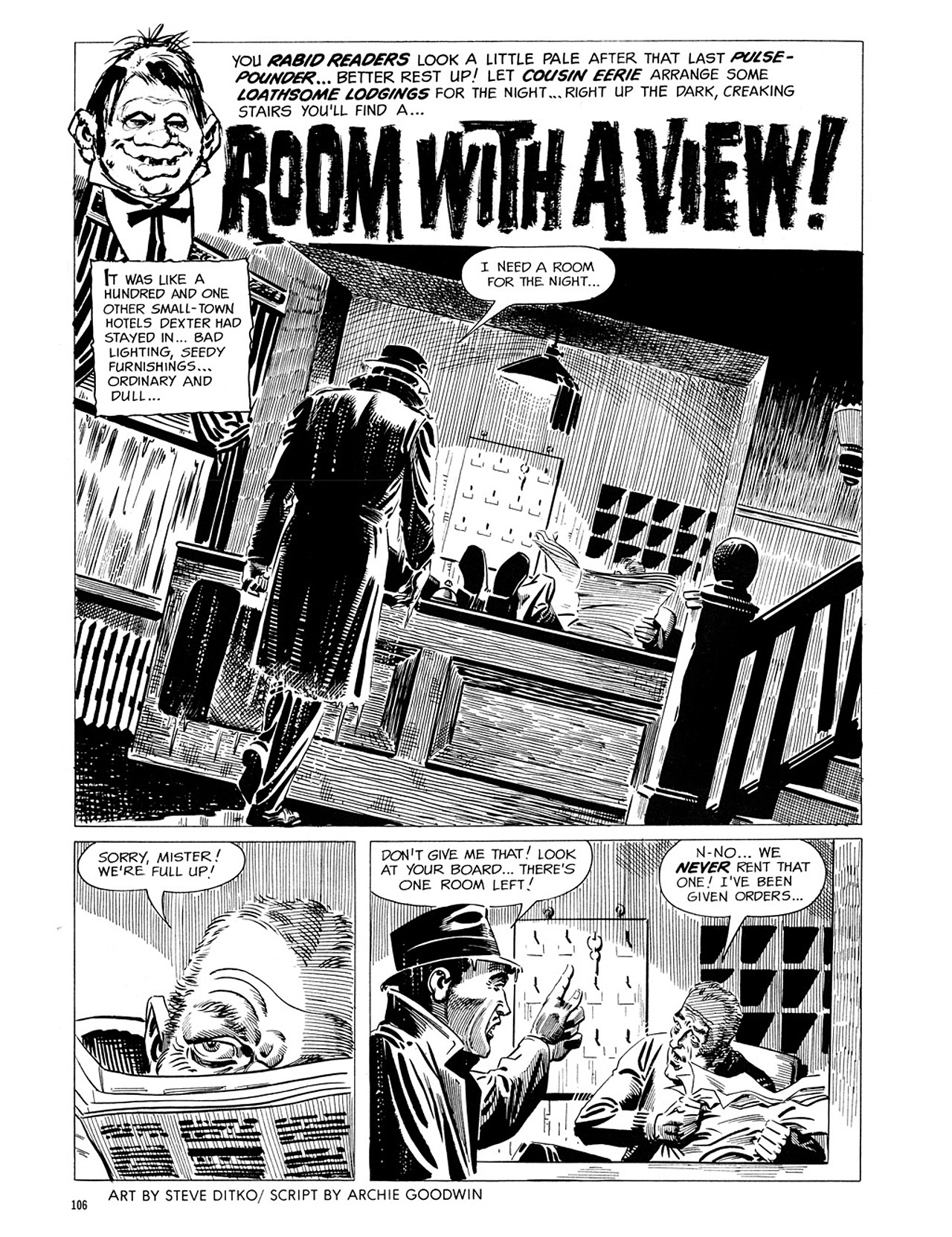 Read online Eerie Archives comic -  Issue # TPB 1 - 107