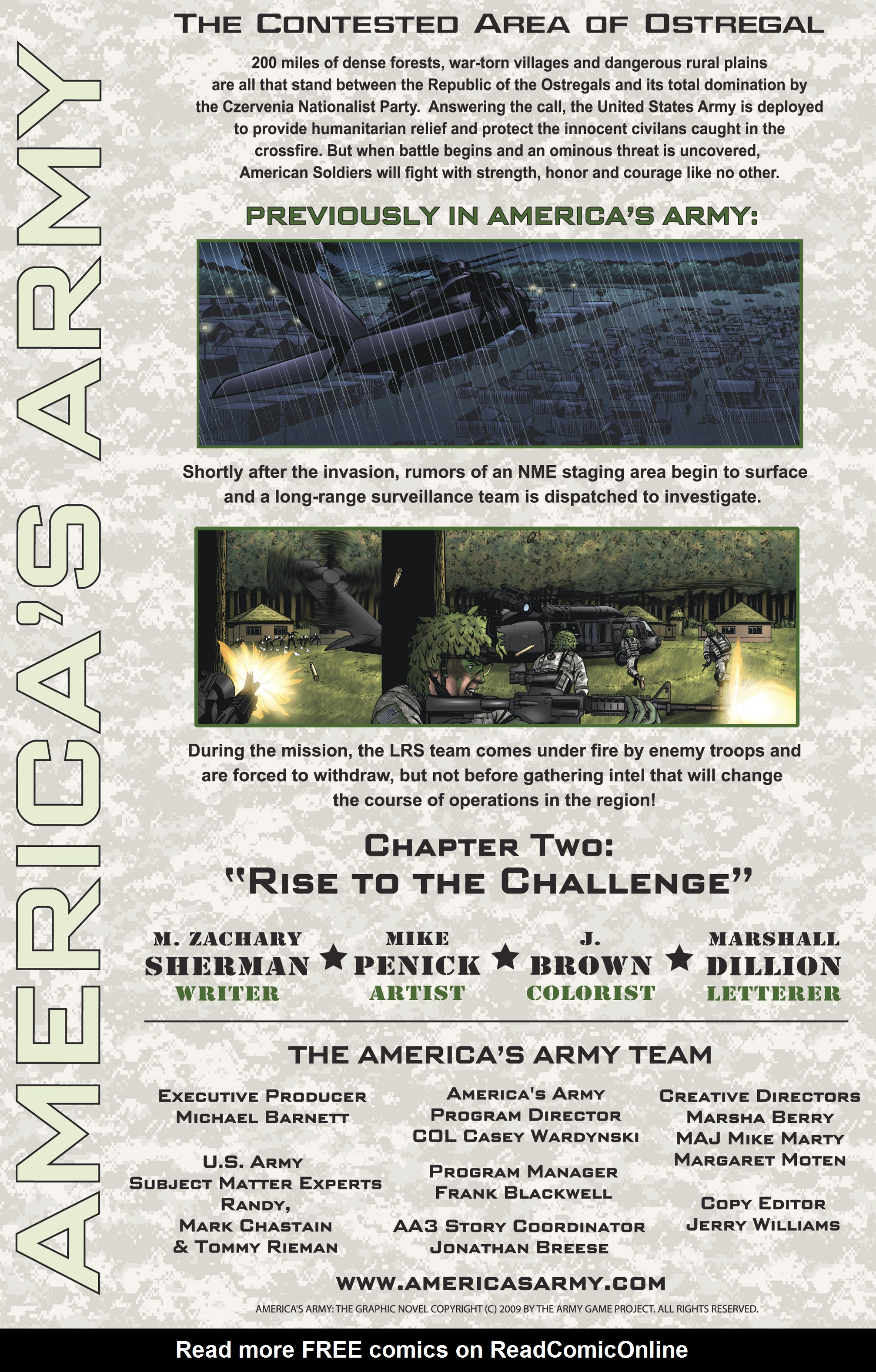 Read online America's Army comic -  Issue #2 - 2