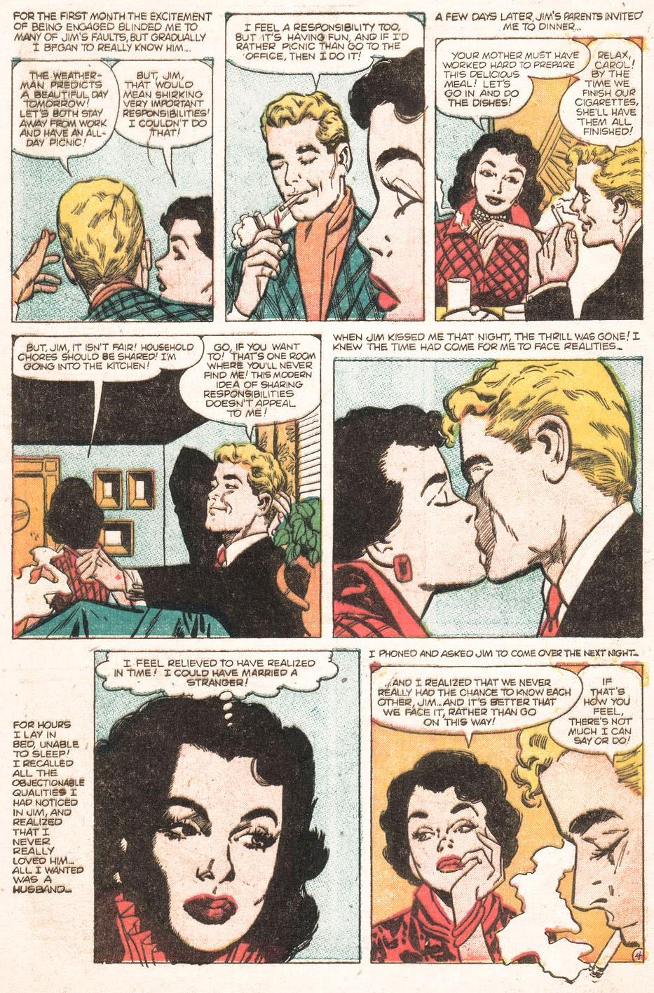 Love Romances (1949) issue 51 - Page 6