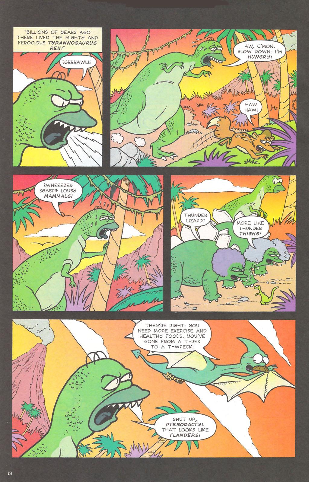 Read online Simpsons Comics comic -  Issue #111 - 19