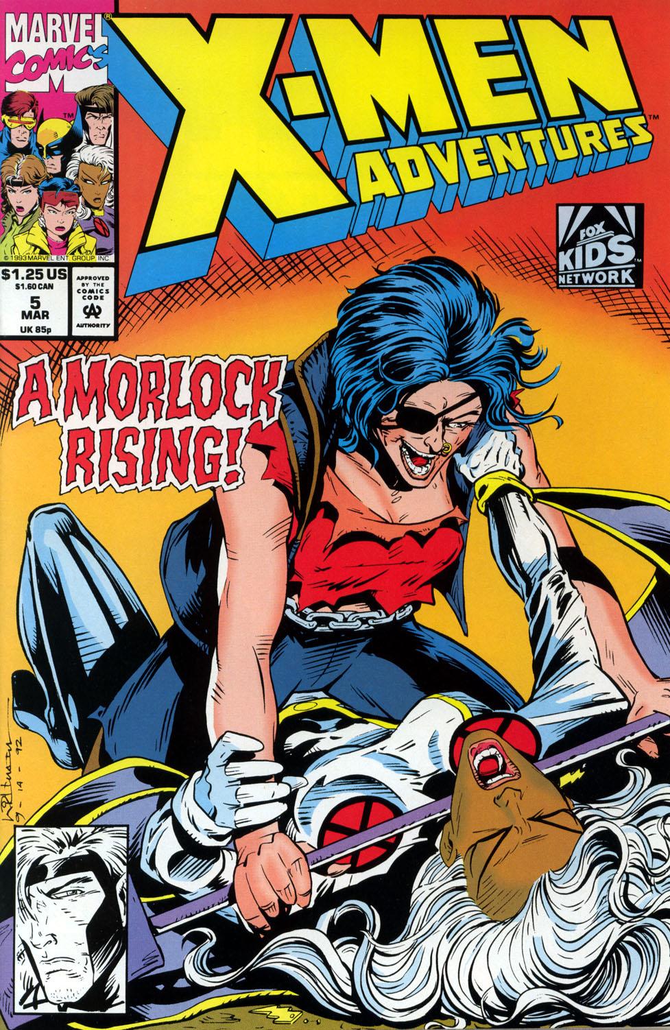 X-Men Adventures (1992) 5 Page 1
