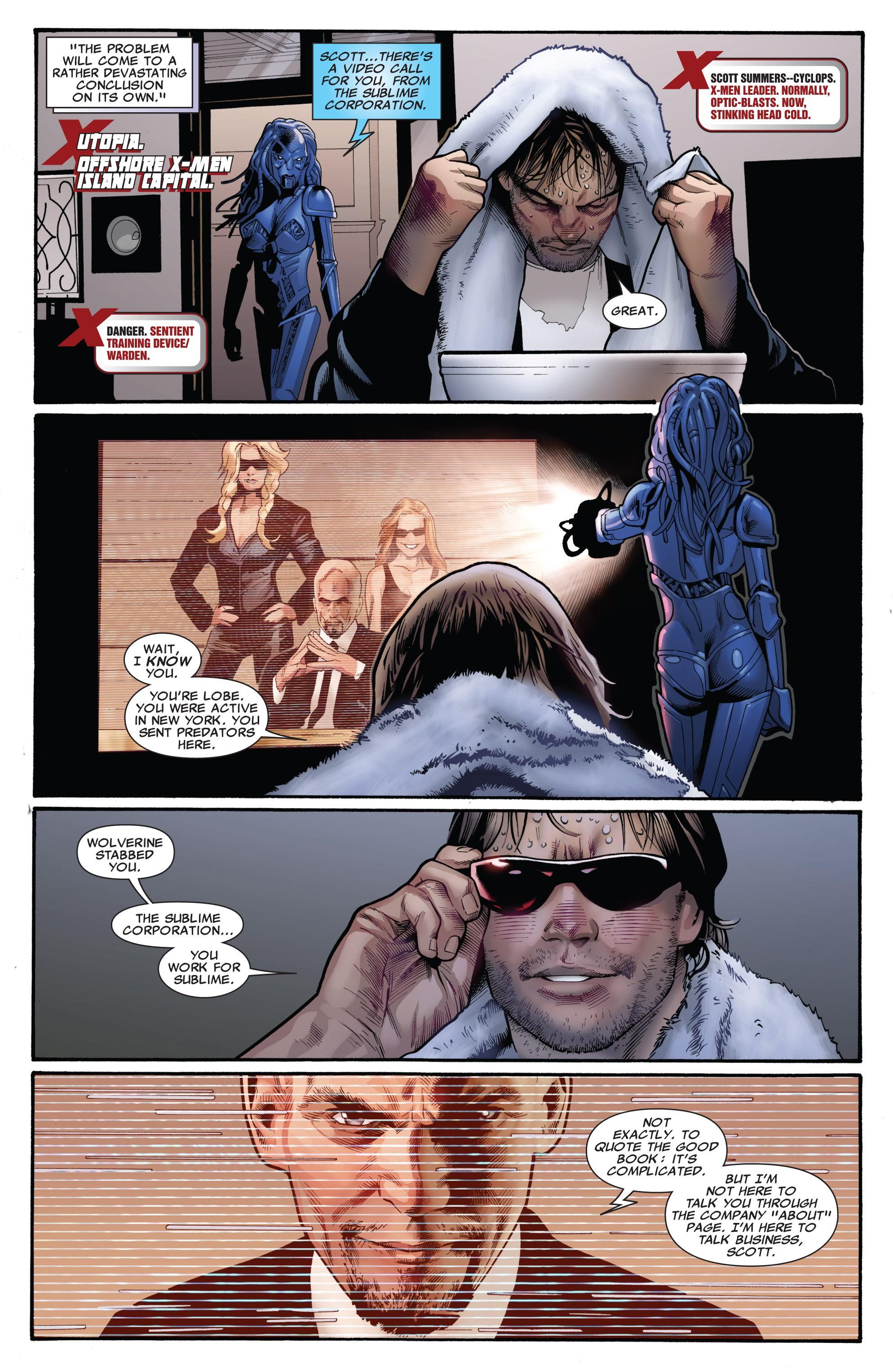 Read online Uncanny X-Men (1963) comic -  Issue #532 - 17