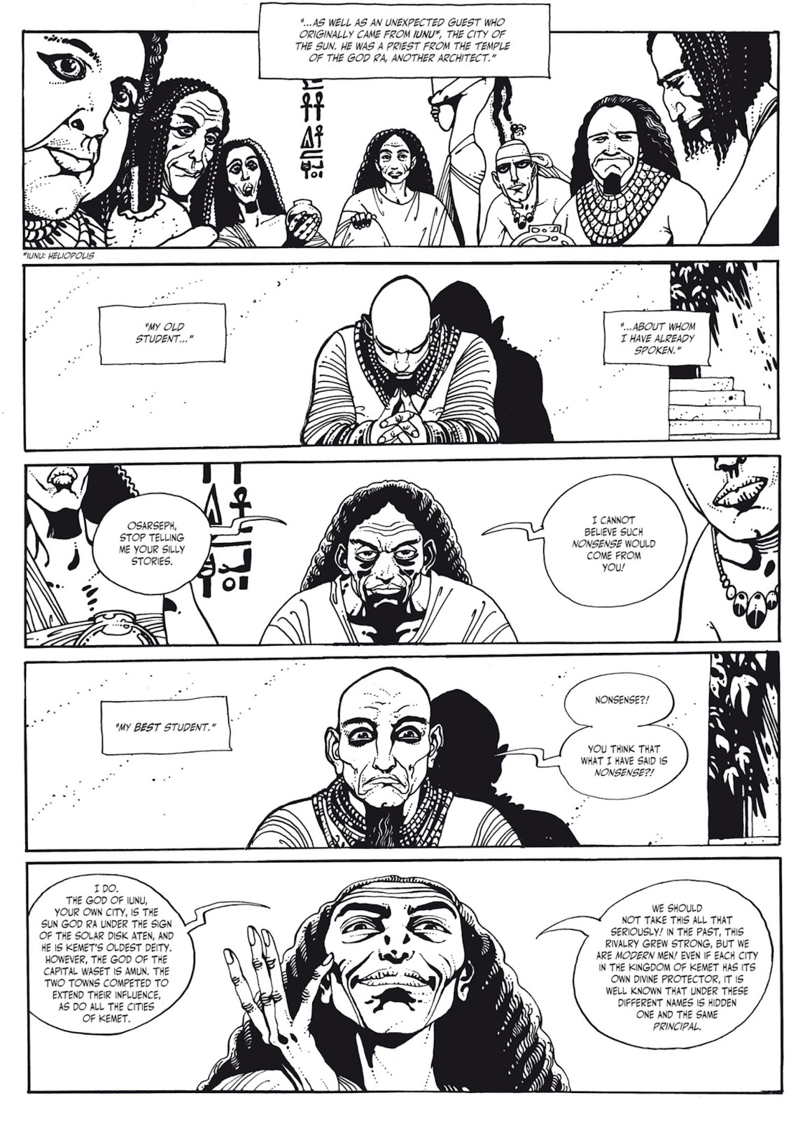 Read online The Egyptian Princesses comic -  Issue # TPB 1 (Part 2) - 37