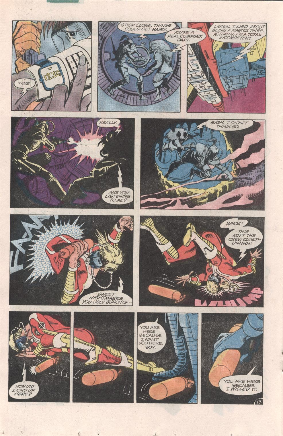 Read online Atari Force (1984) comic -  Issue #6 - 15