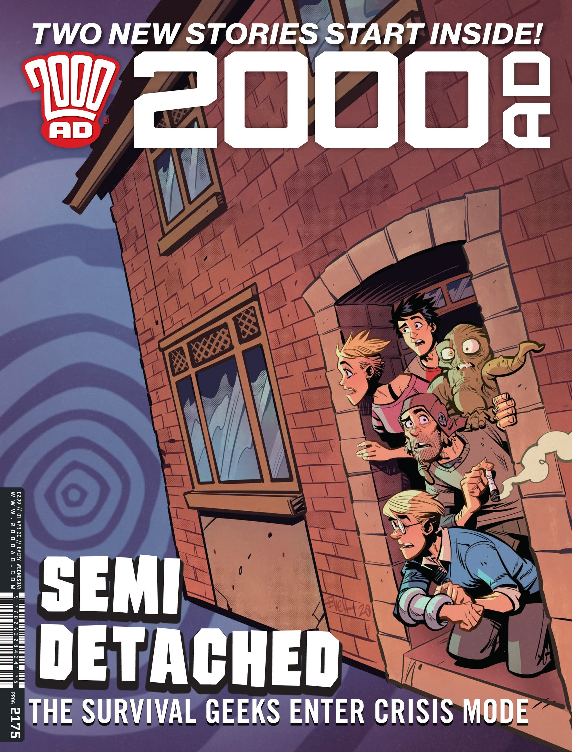 2000 AD 2175 Page 1