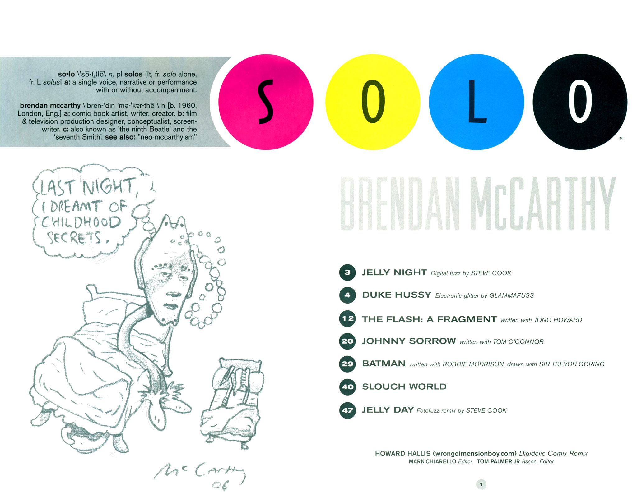 Read online Solo (2004) comic -  Issue #12 - 3