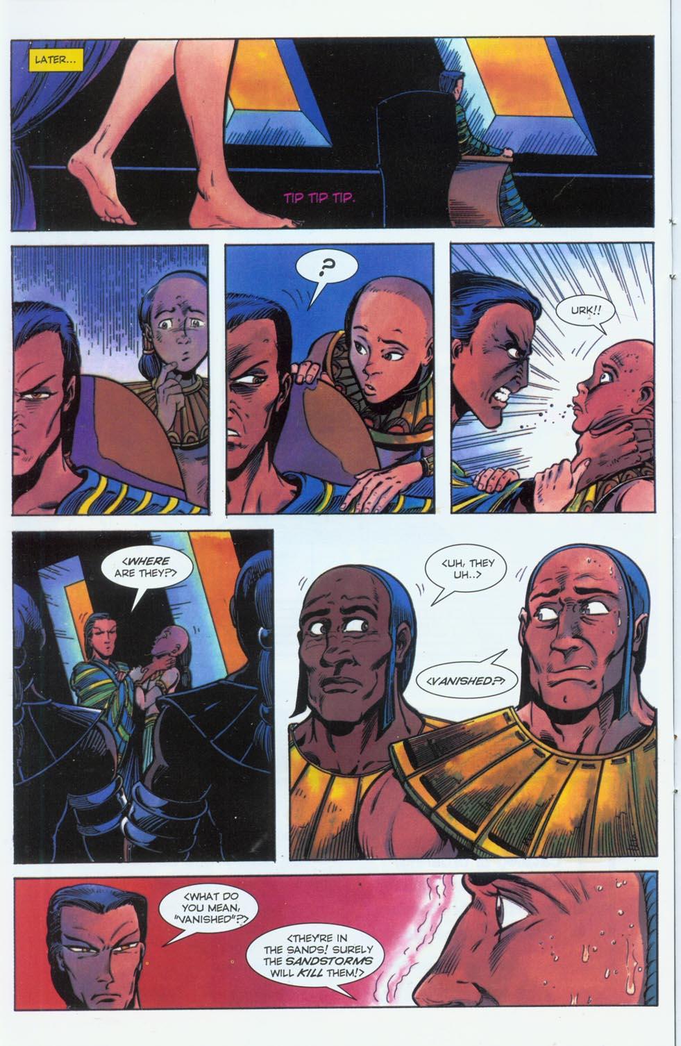 Read online Stargate comic -  Issue #3 - 19