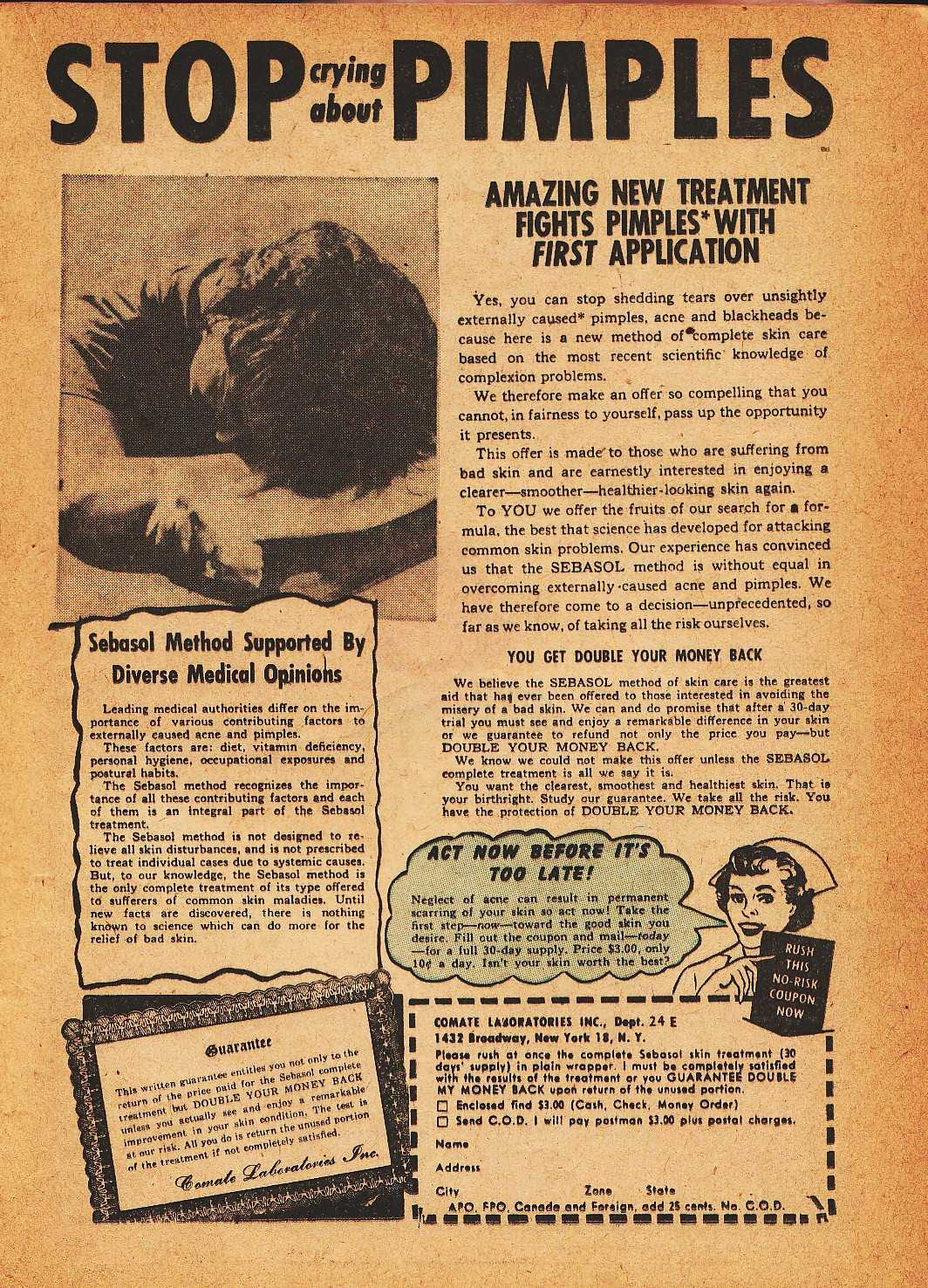 Read online Nellie The Nurse (1945) comic -  Issue #32 - 17