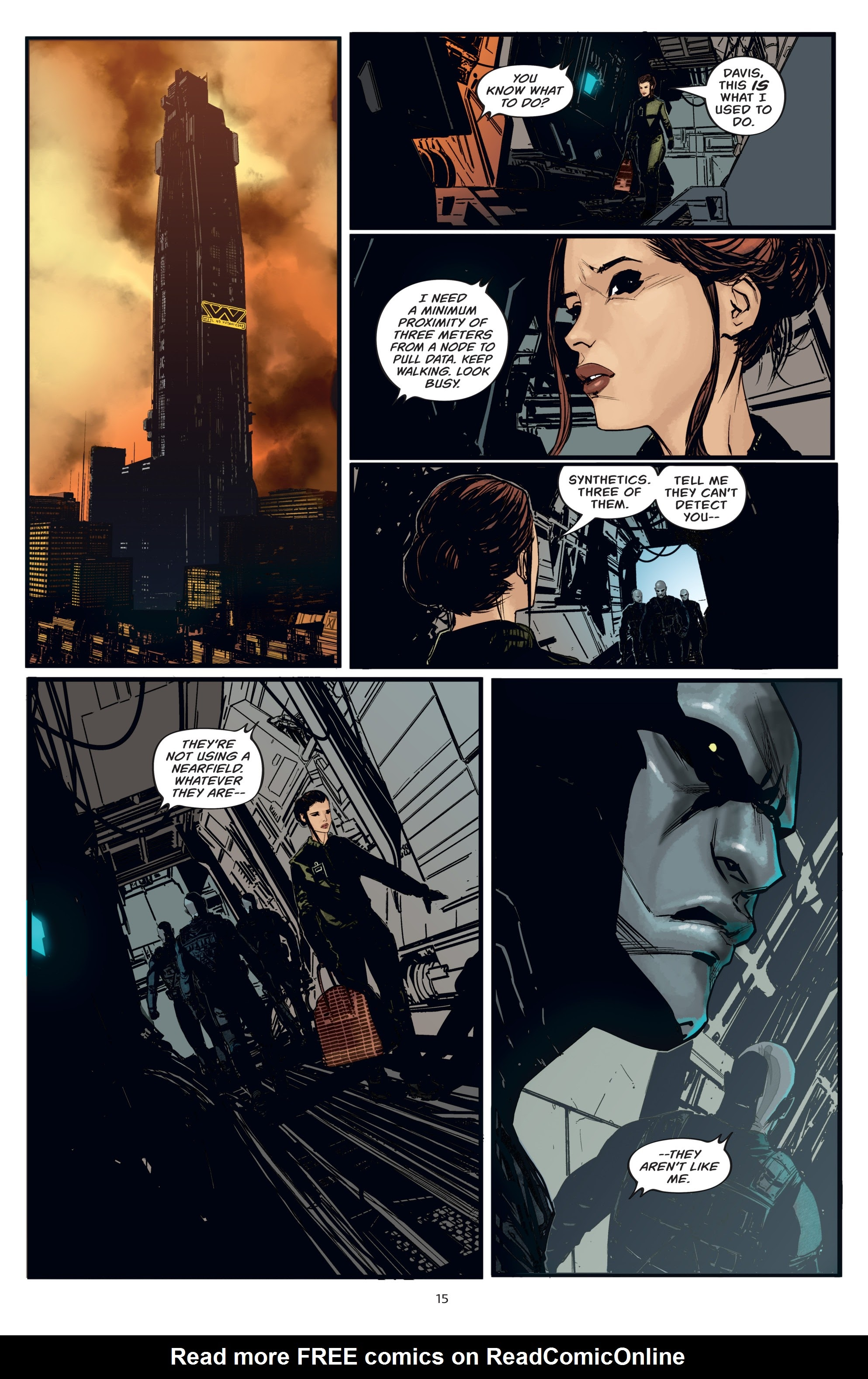 Read online Aliens: Resistance comic -  Issue # _TPB - 15