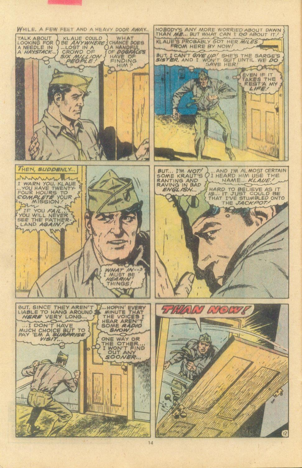 Read online Sgt. Fury comic -  Issue #163 - 16
