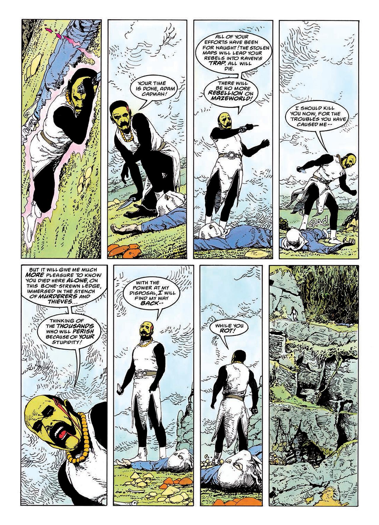 Read online Mazeworld comic -  Issue # TPB - 98