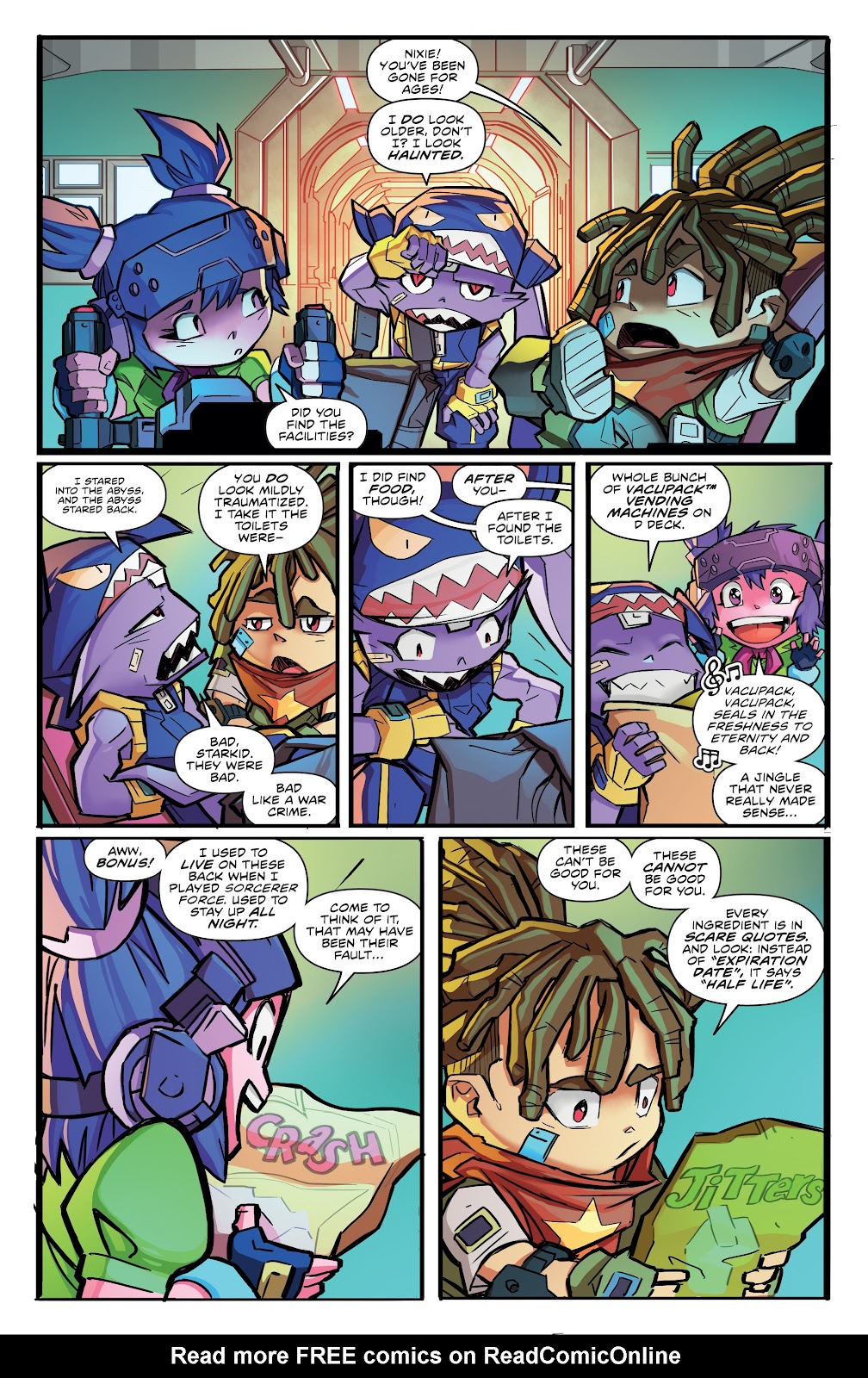 Read online Starcadia Quest comic -  Issue #2 - 4
