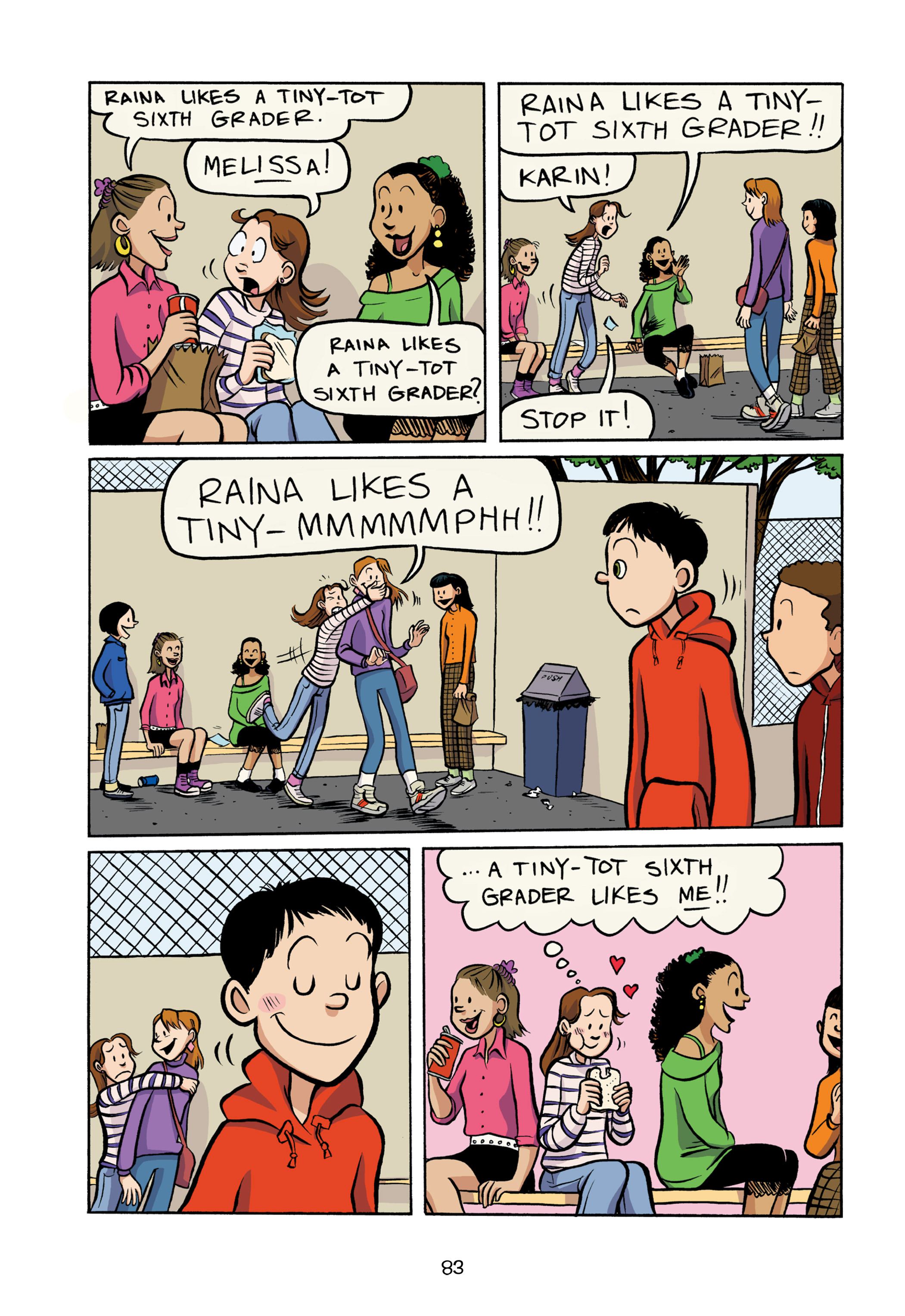 Read online Smile comic -  Issue # TPB - 89