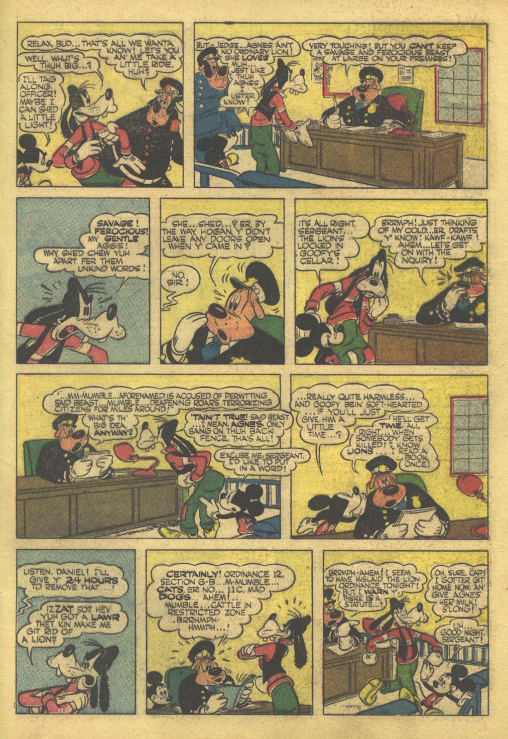 Walt Disney's Comics and Stories issue 86 - Page 49