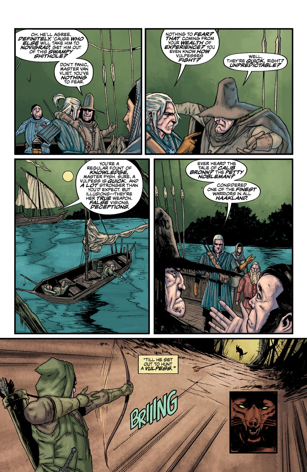 Read online The Witcher Omnibus comic -  Issue # TPB (Part 2) - 43
