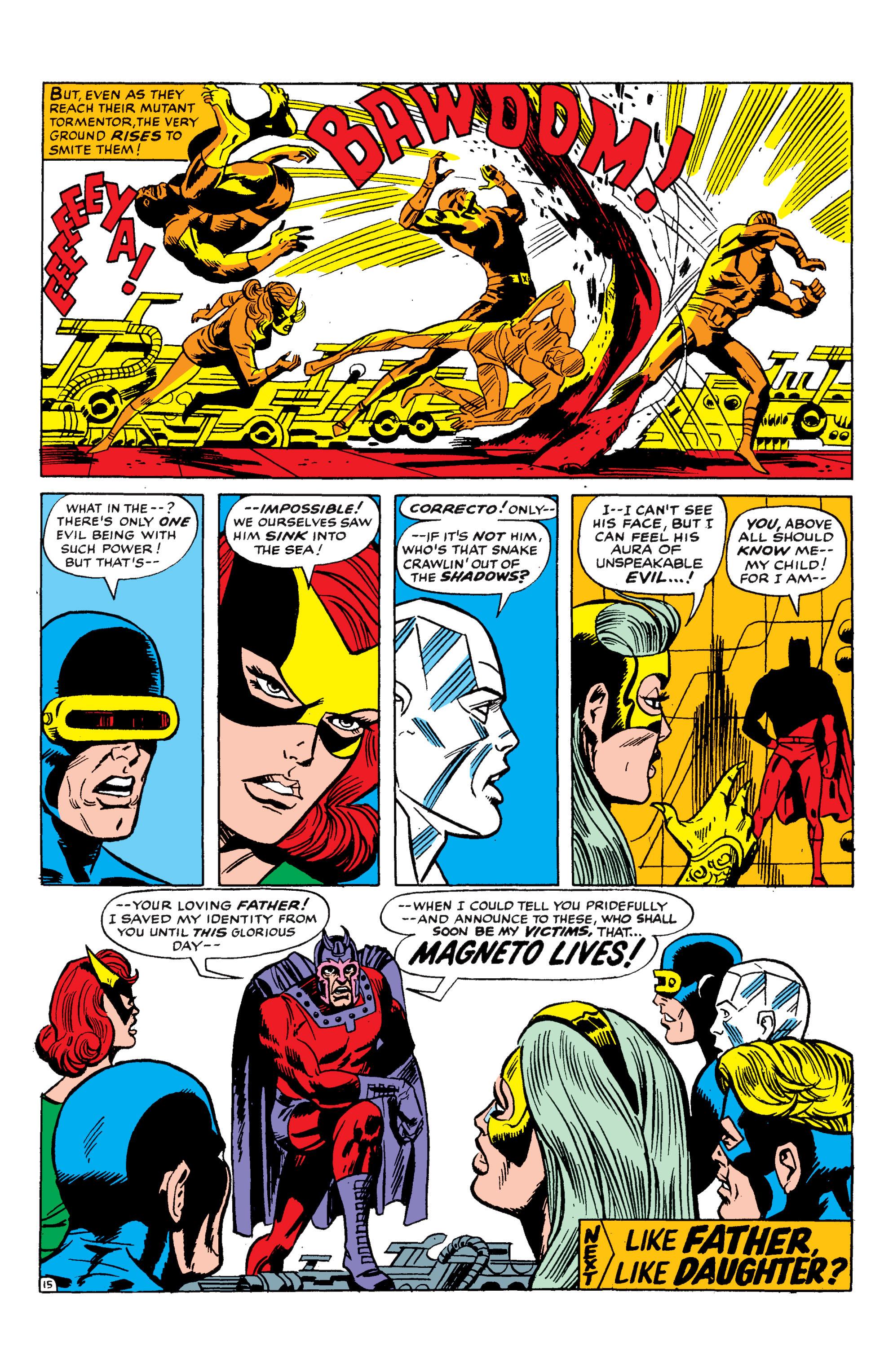 Read online Uncanny X-Men (1963) comic -  Issue #50 - 15