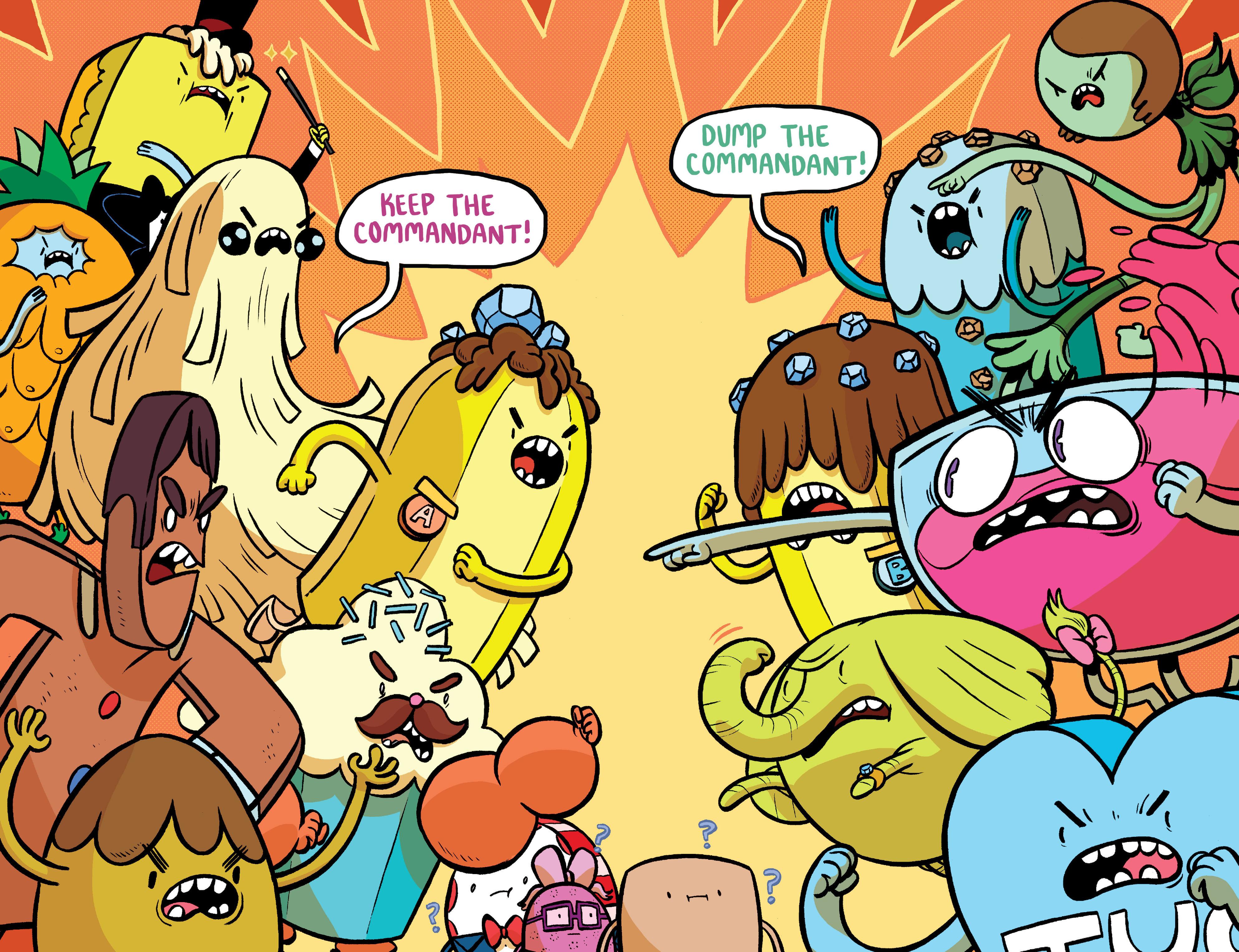 Read online Adventure Time: Banana Guard Academ comic -  Issue #4 - 16